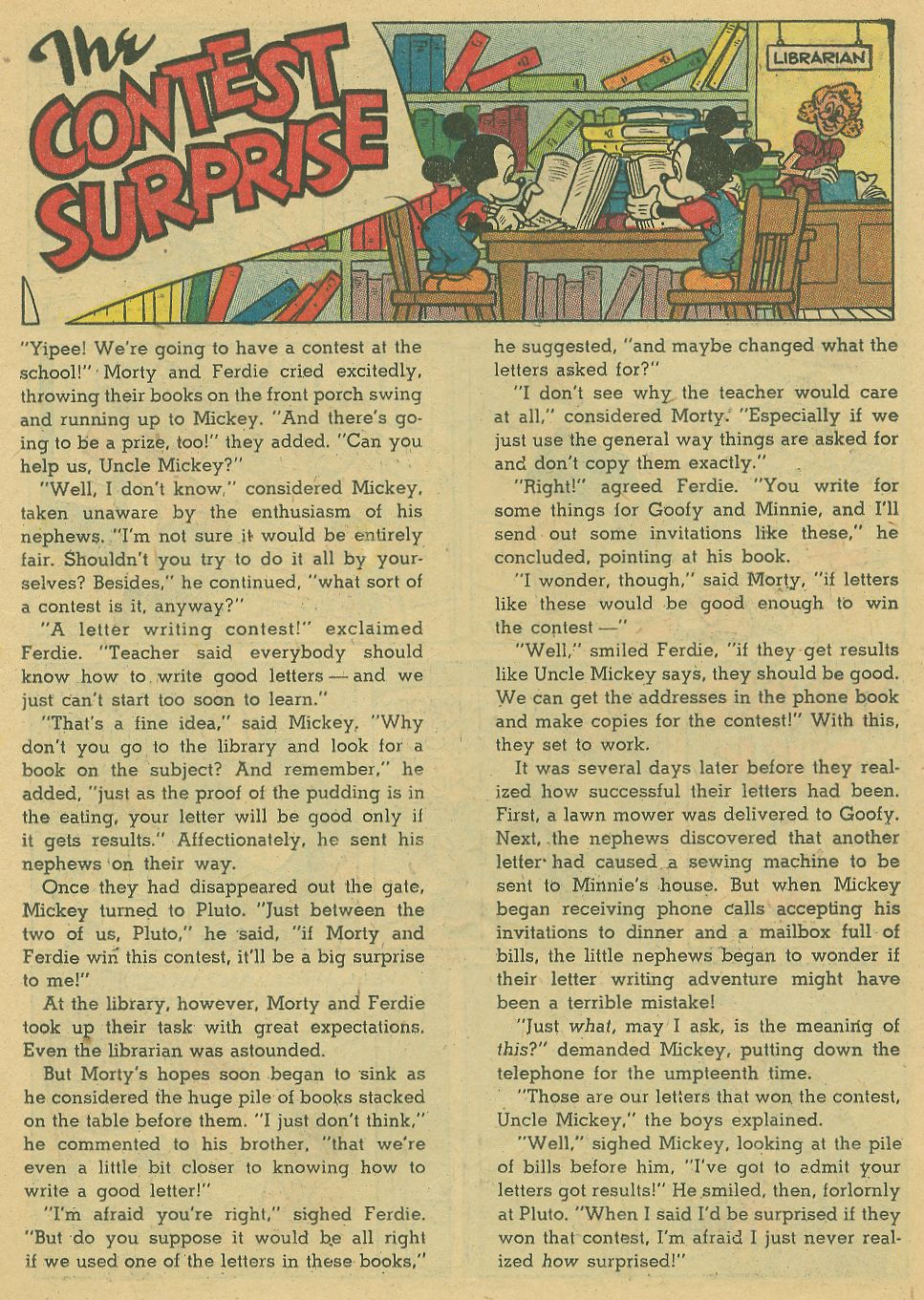 Walt Disney's Comics and Stories issue 198 - Page 23