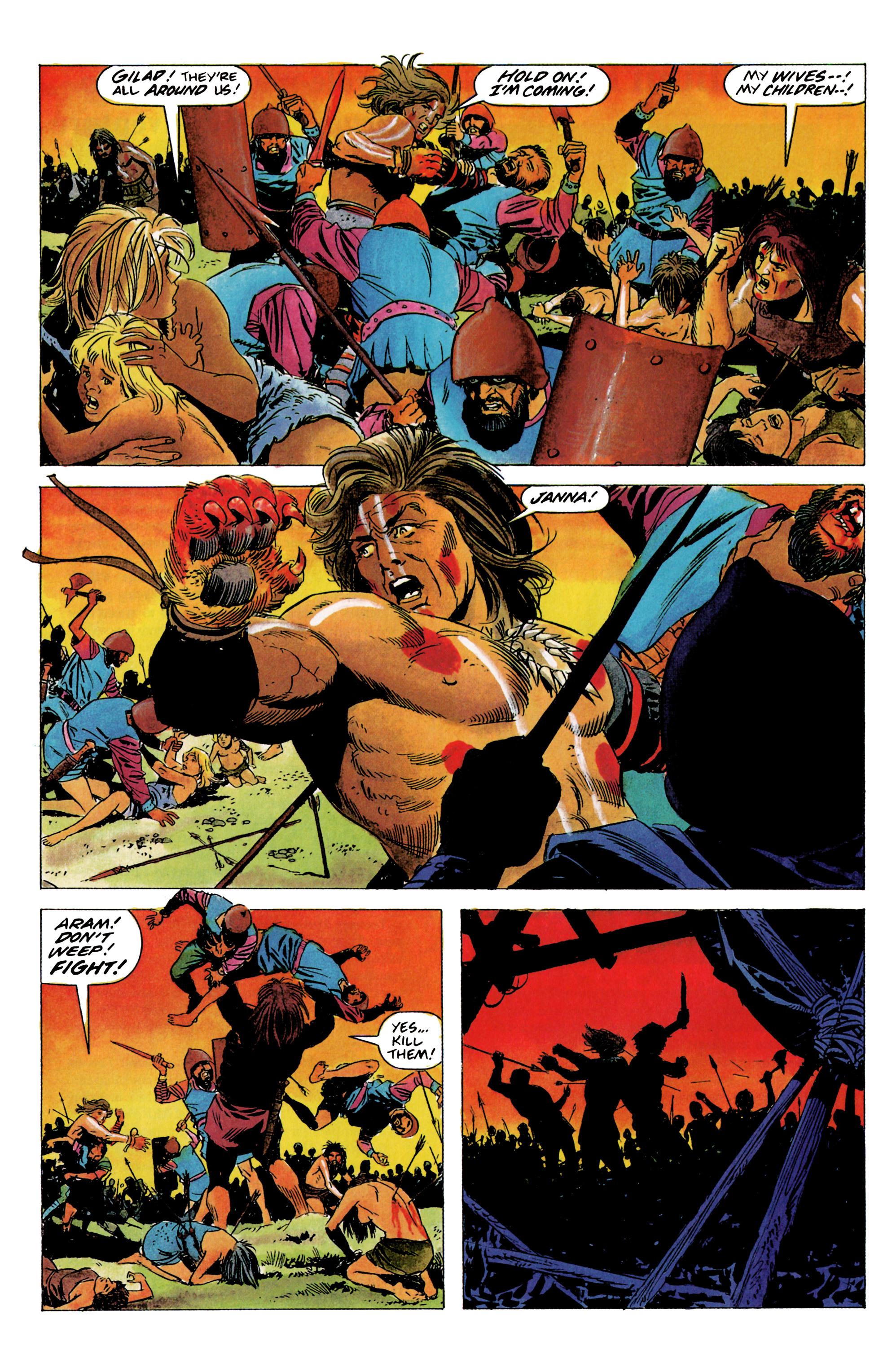 Read online Eternal Warrior (1992) comic -  Issue #1 - 13