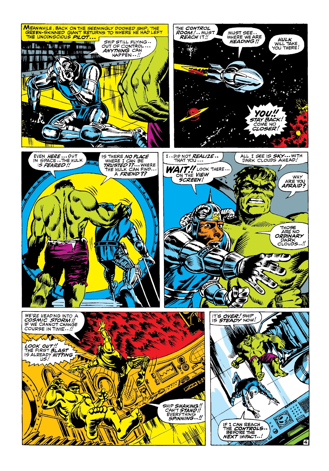 Read online Marvel Masterworks: The Incredible Hulk comic -  Issue # TPB 3 (Part 2) - 76