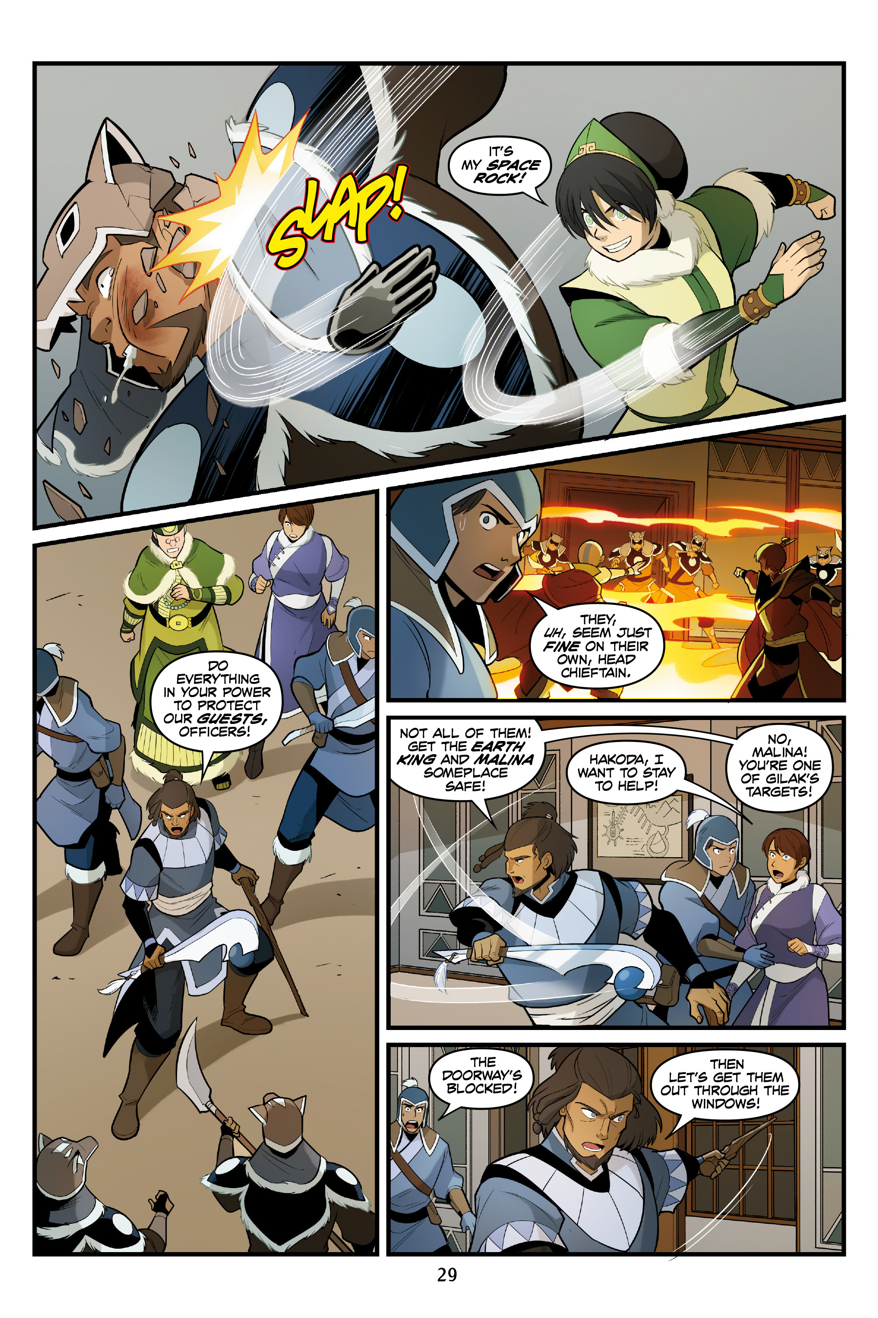 Read online Nickelodeon Avatar: The Last Airbender - North and South comic -  Issue #3 - 30