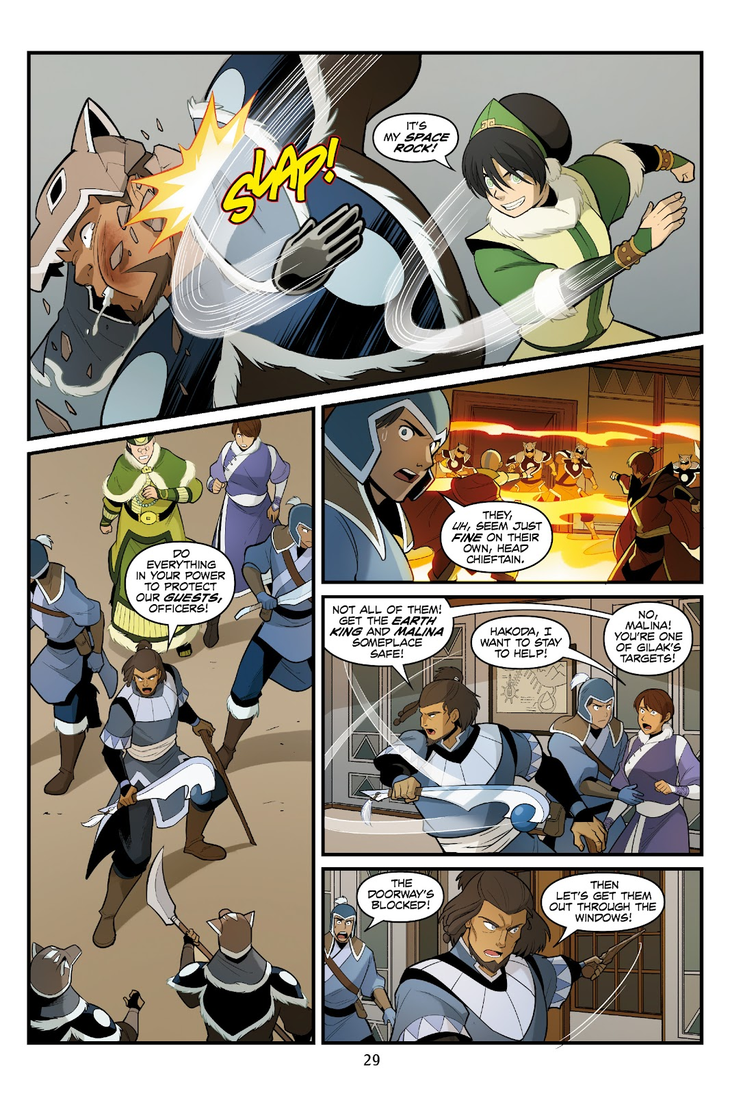 Nickelodeon Avatar: The Last Airbender - North and South issue 3 - Page 30