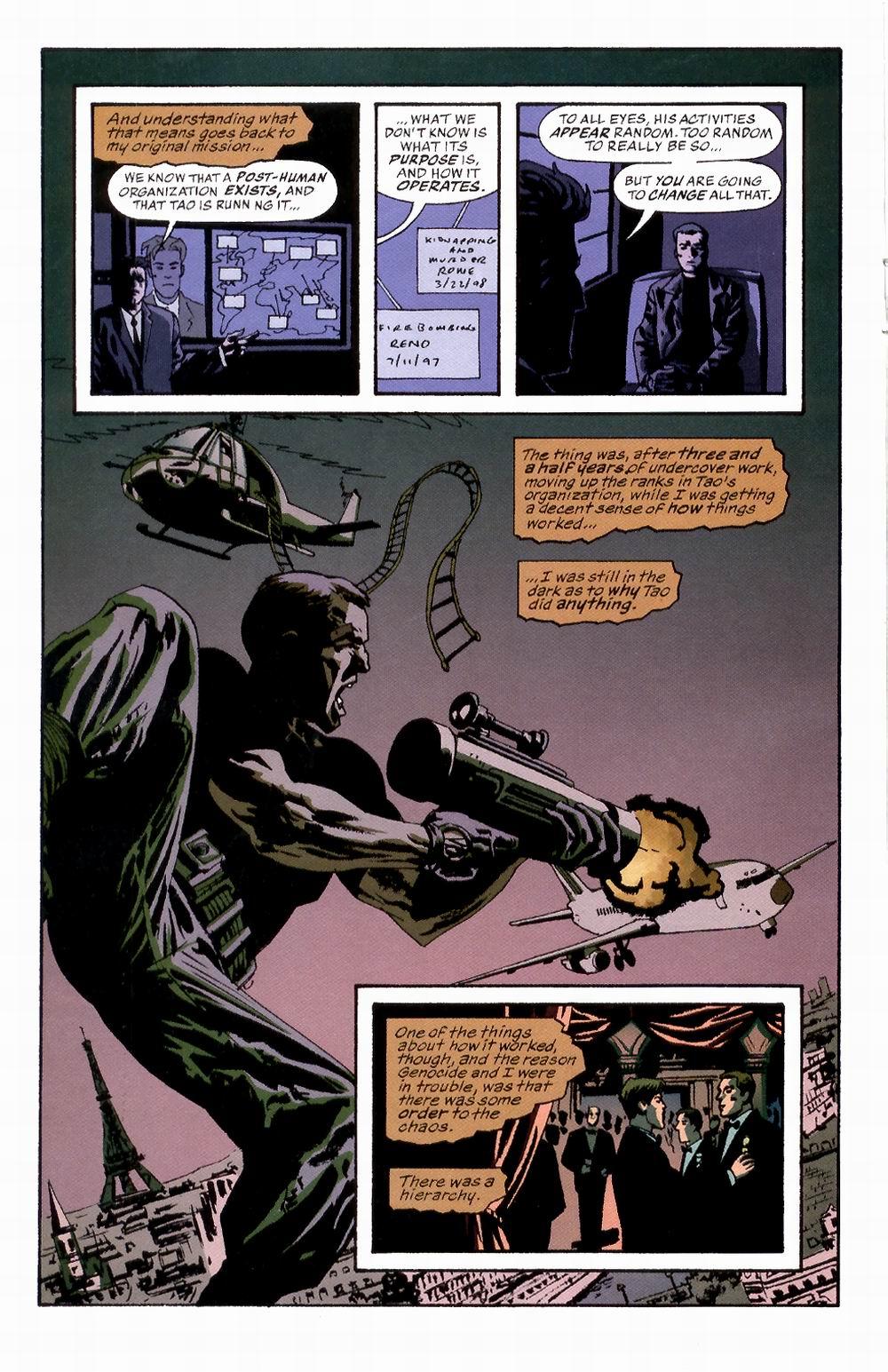 Read online Sleeper comic -  Issue #2 - 14