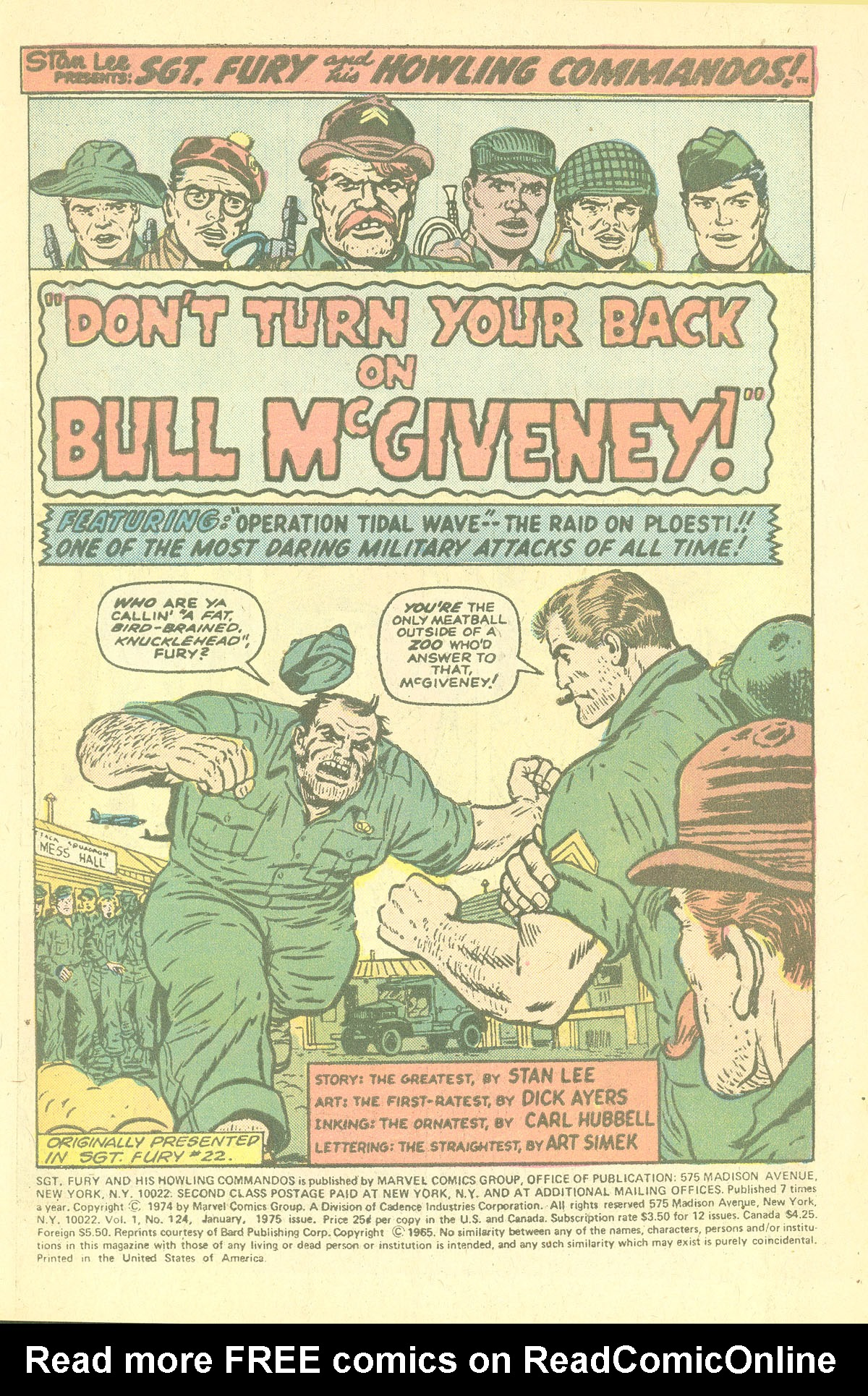 Read online Sgt. Fury comic -  Issue #124 - 3