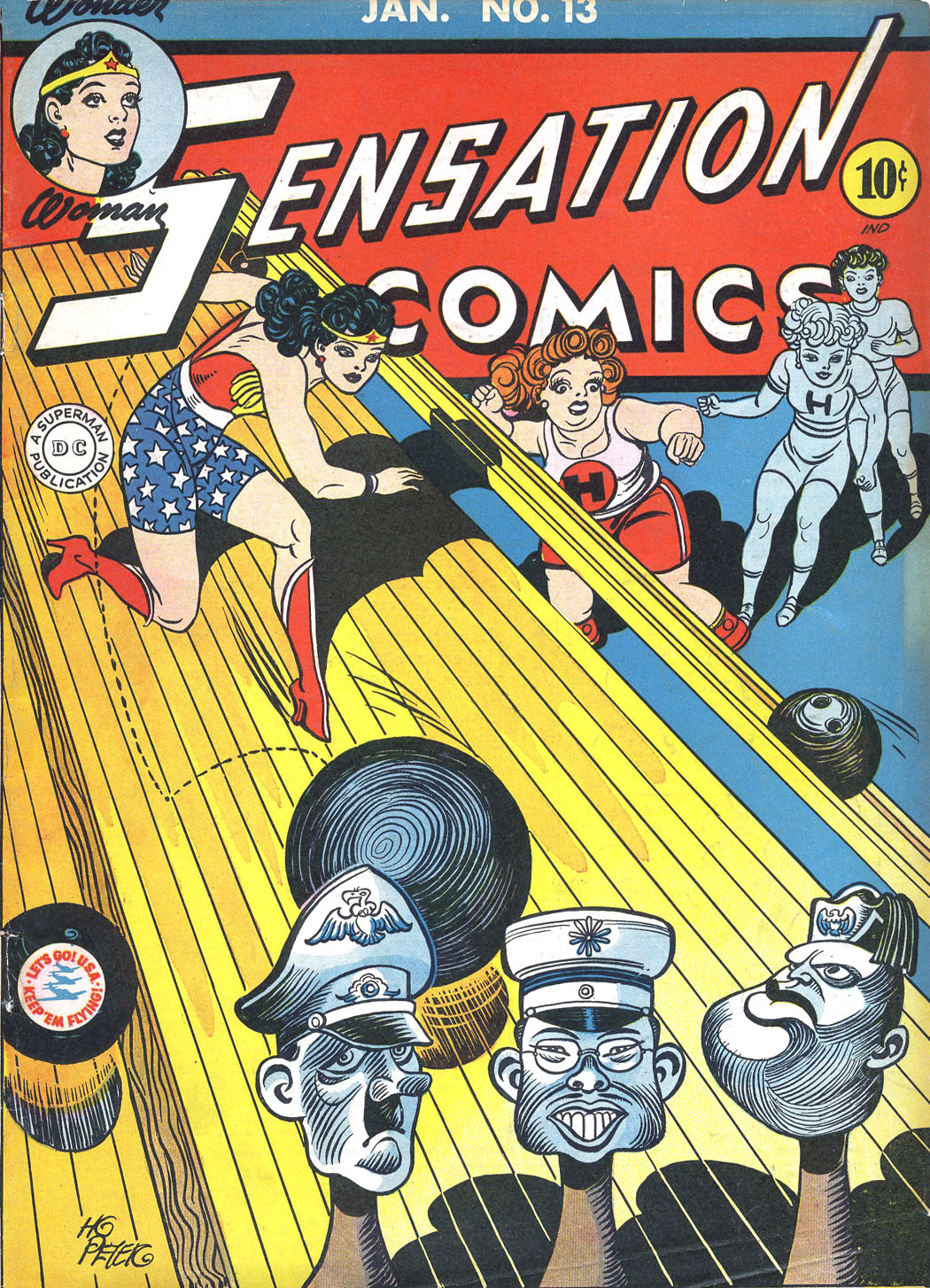 Read online Sensation (Mystery) Comics comic -  Issue #13 - 1