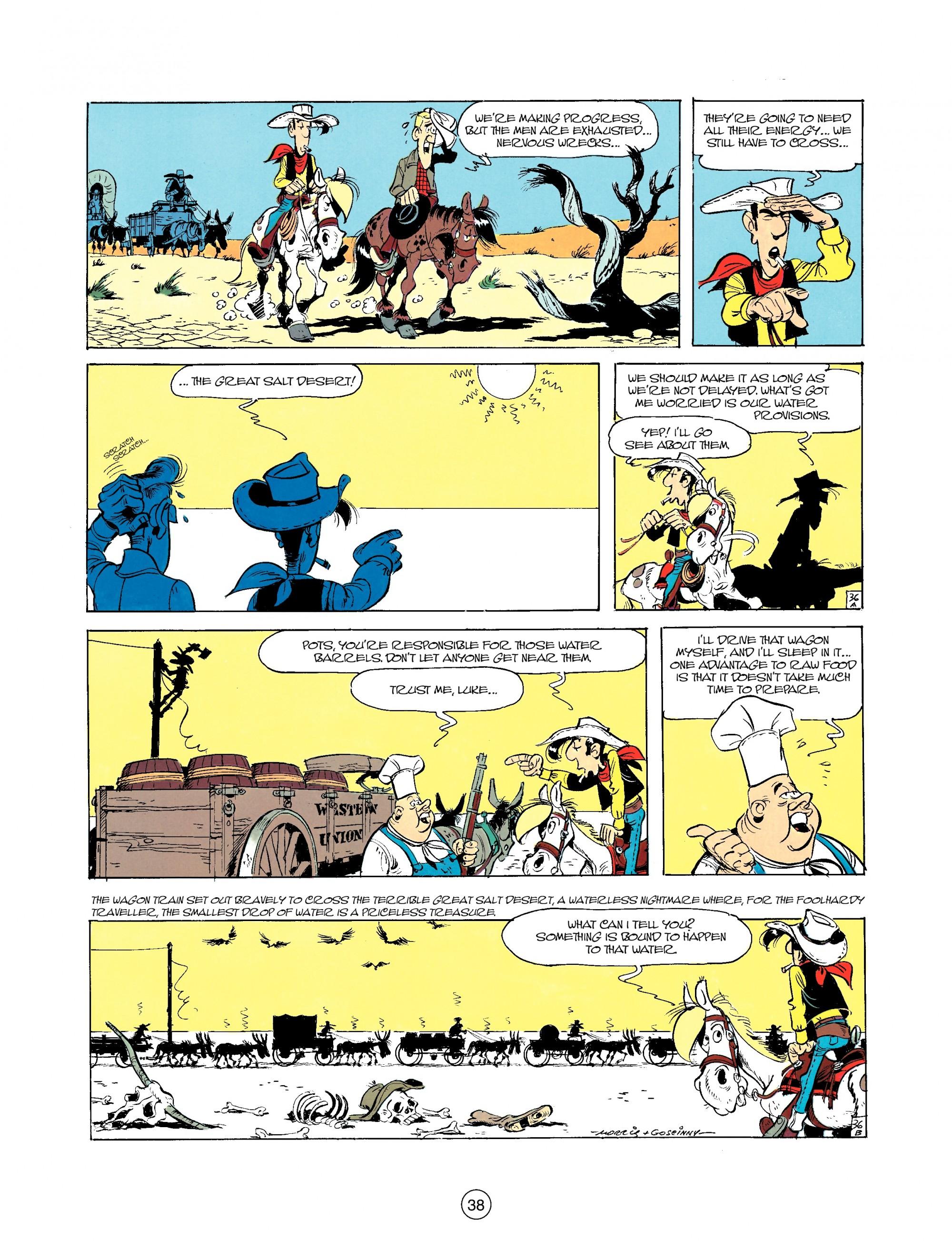 Read online A Lucky Luke Adventure comic -  Issue #35 - 38