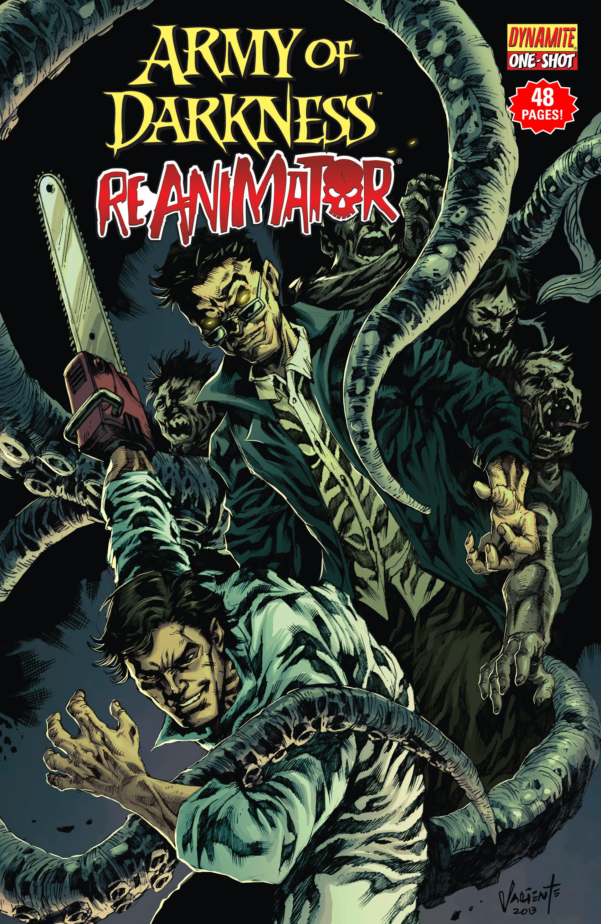 Army of Darkness/Reanimator Full Page 1