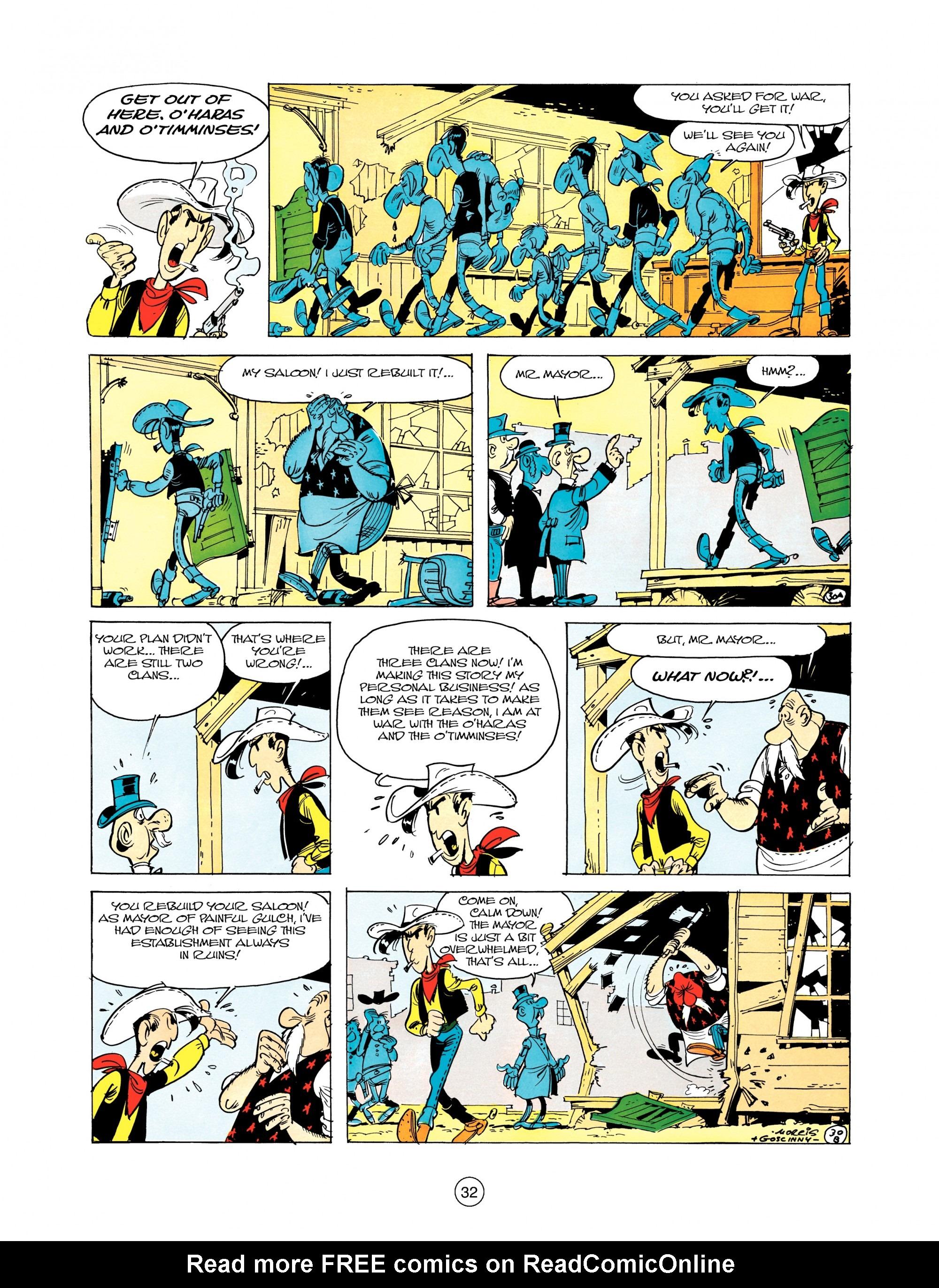 Read online A Lucky Luke Adventure comic -  Issue #12 - 32