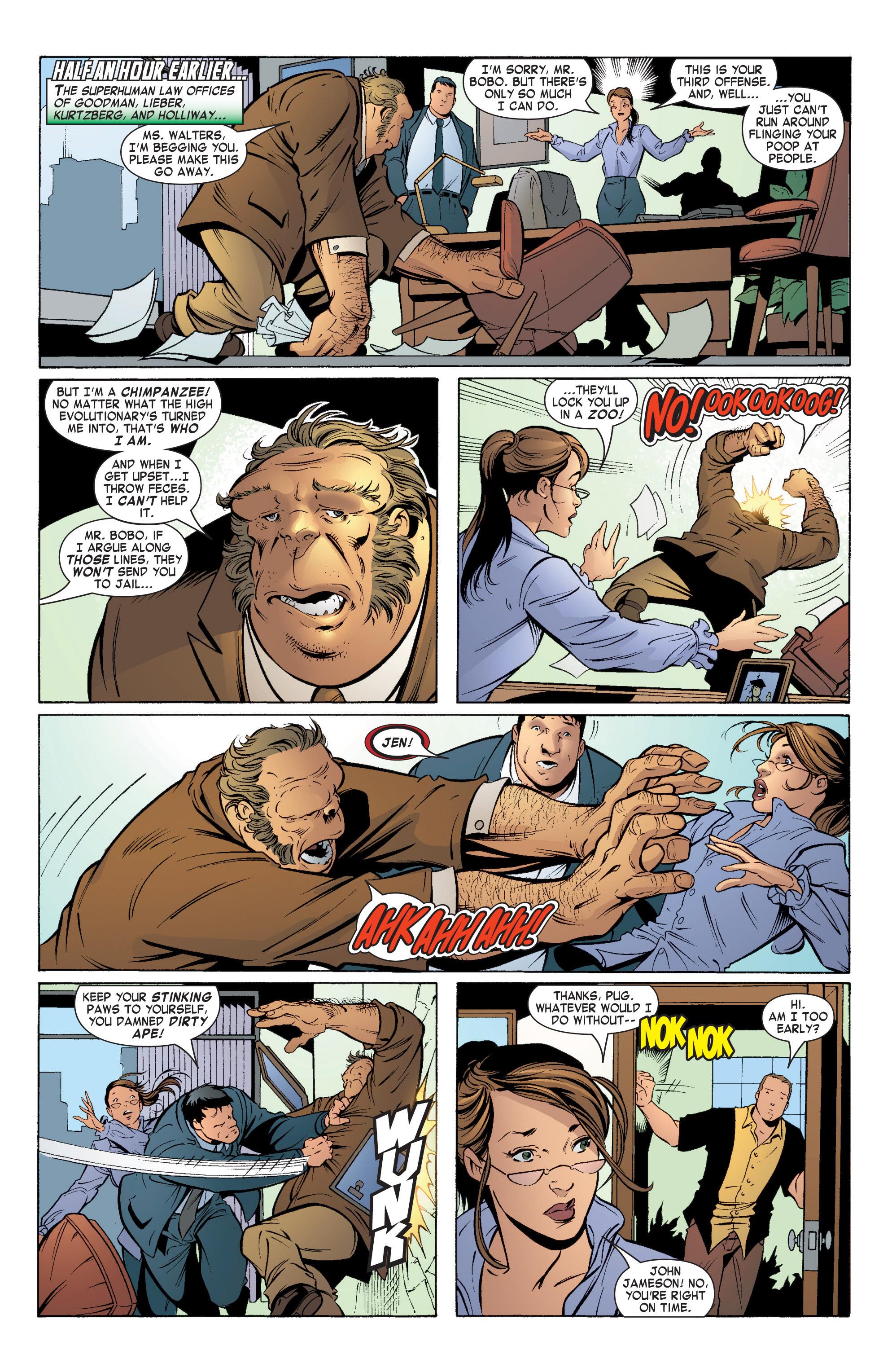 Read online She-Hulk (2004) comic -  Issue #5 - 5