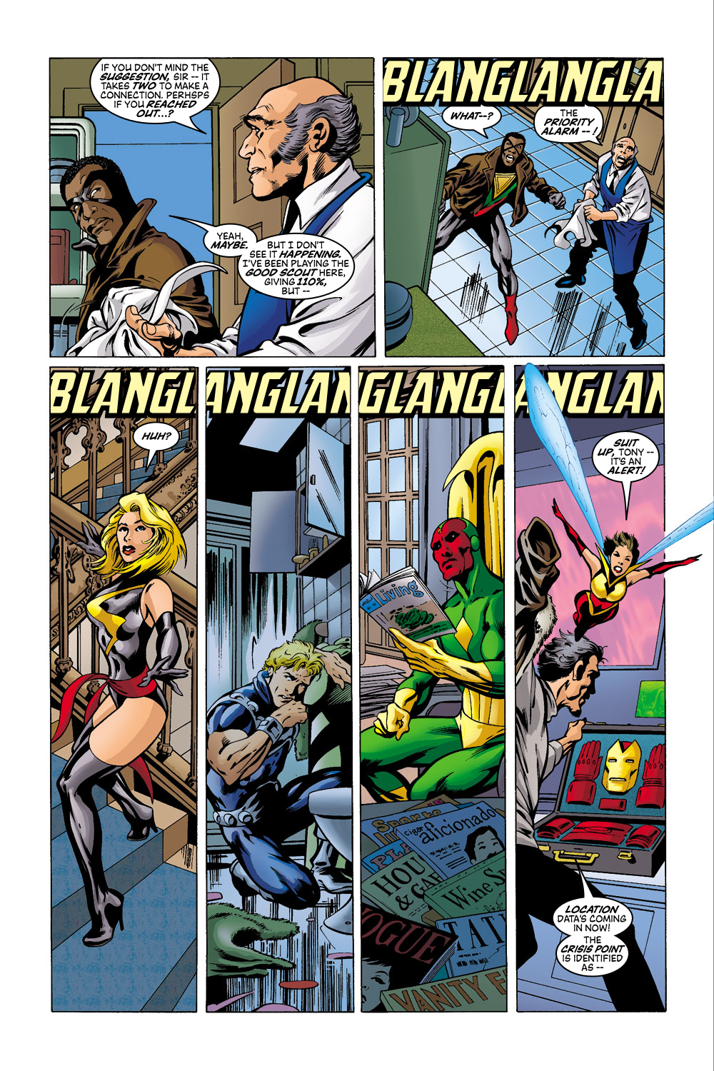 Read online Avengers (1998) comic -  Issue #41 - 11