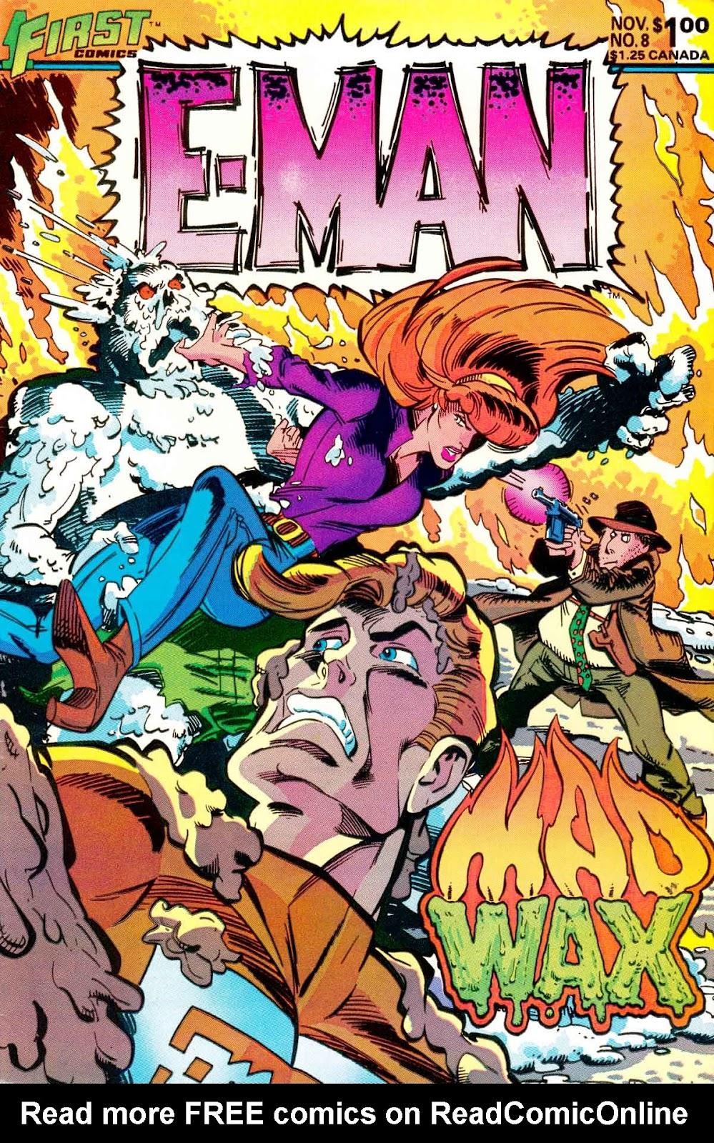 E-Man (1983) 8 Page 1