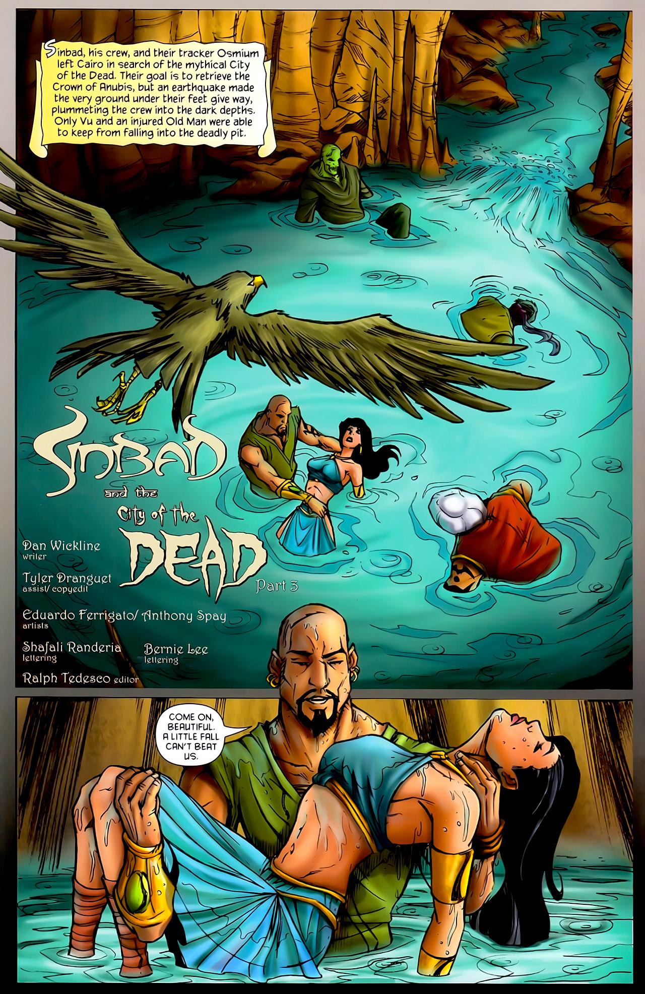 Read online 1001 Arabian Nights: The Adventures of Sinbad comic -  Issue #10 - 4