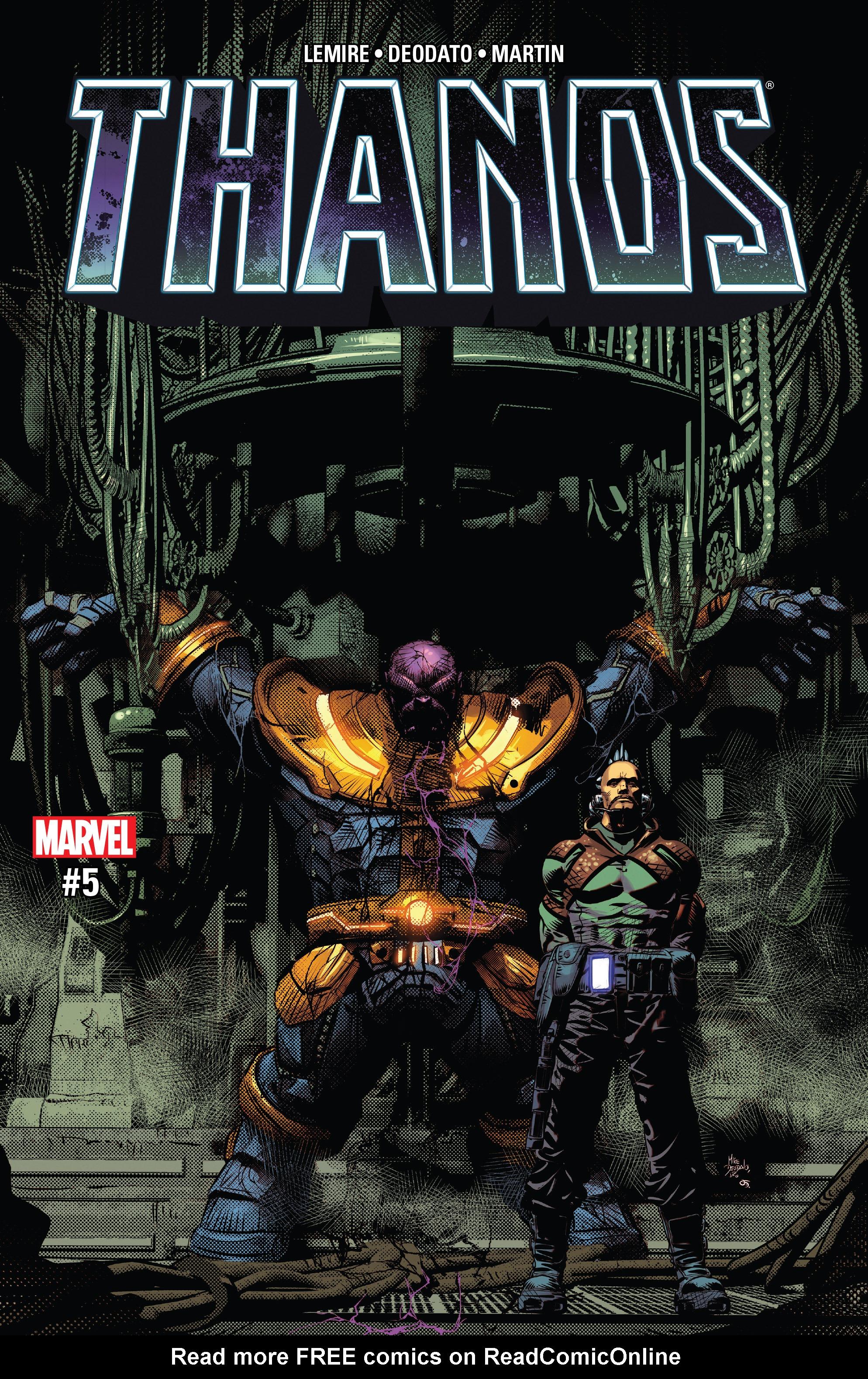 Thanos (2016) 5 Page 1