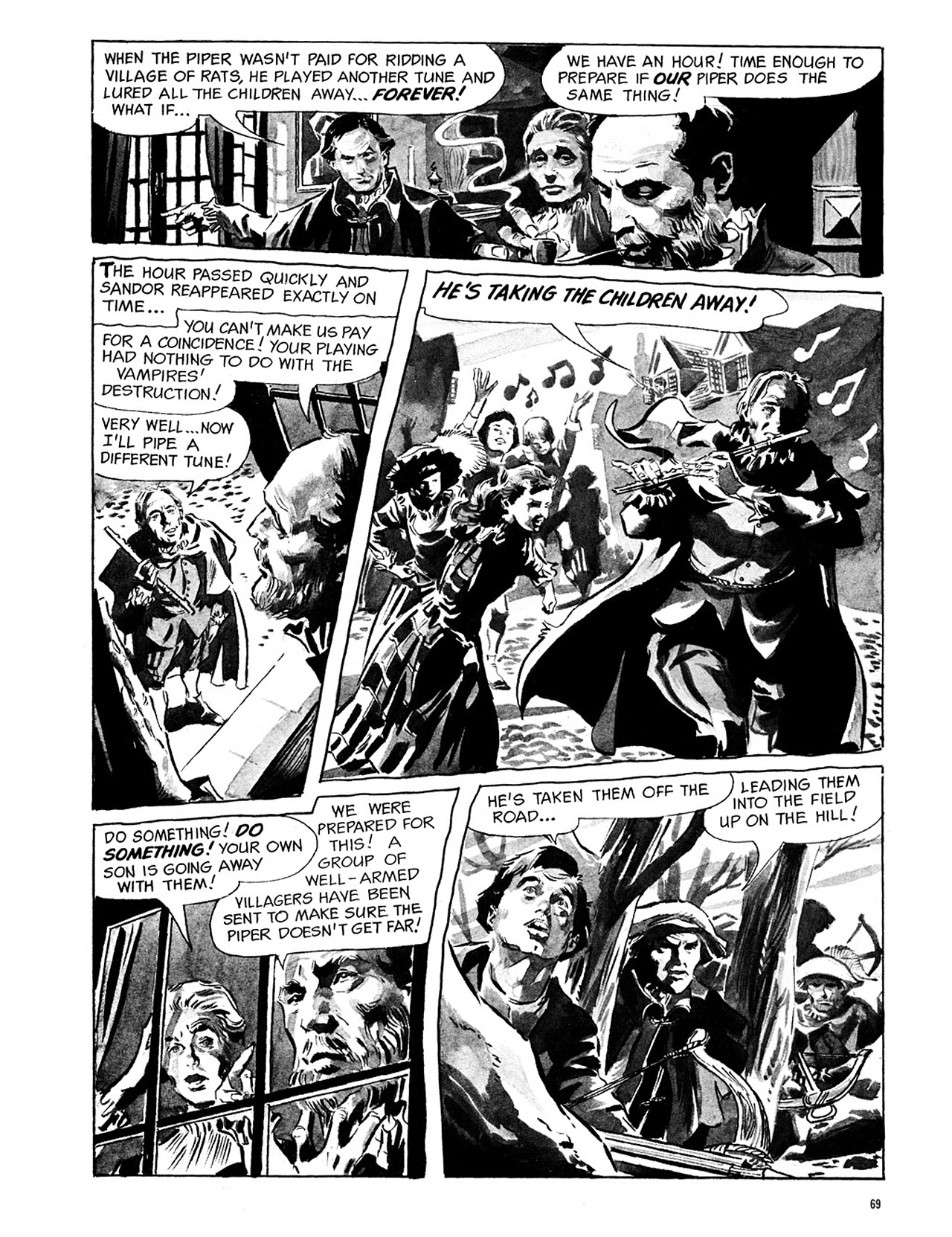 Read online Eerie Archives comic -  Issue # TPB 1 - 70