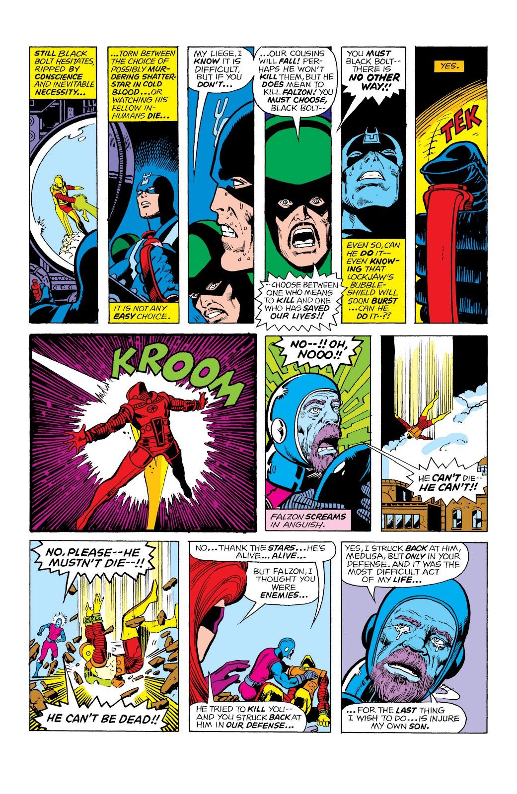Read online Marvel Masterworks: The Inhumans comic -  Issue # TPB 2 (Part 1) - 73