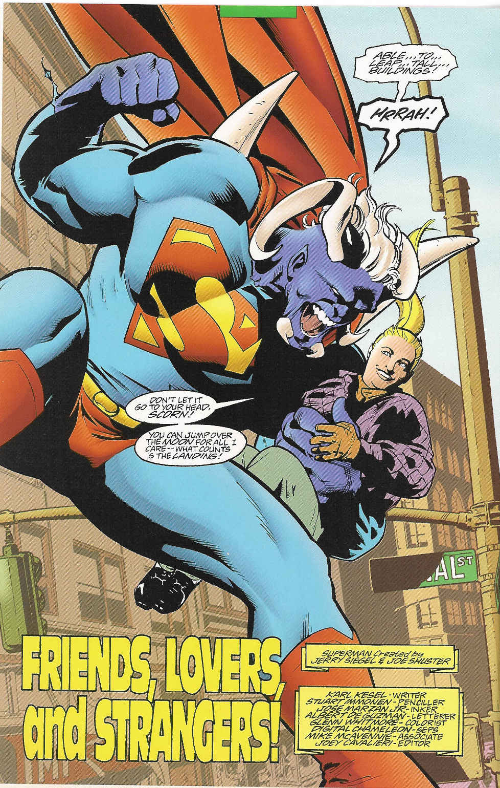 Read online Adventures of Superman (1987) comic -  Issue #548 - 6
