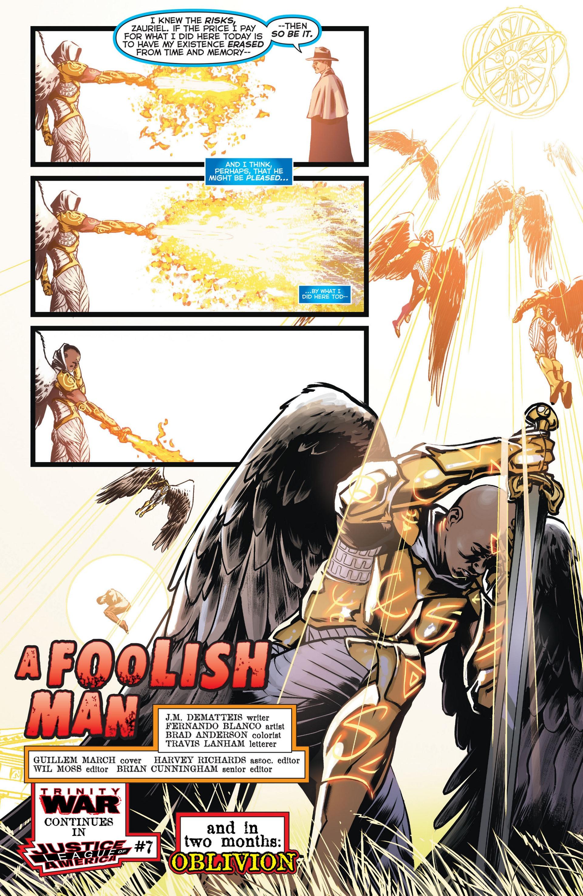 Read online Trinity of Sin: The Phantom Stranger comic -  Issue #11 - 22