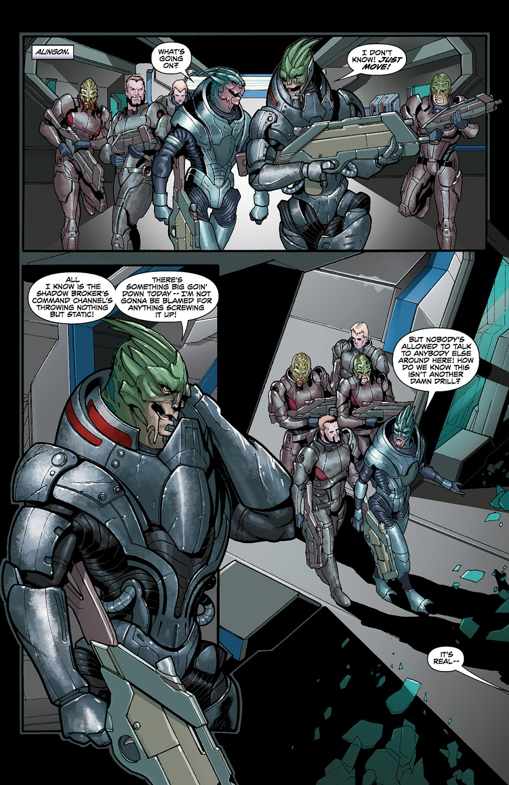 Mass Effect: Redemption Issue #4 #4 - English 2