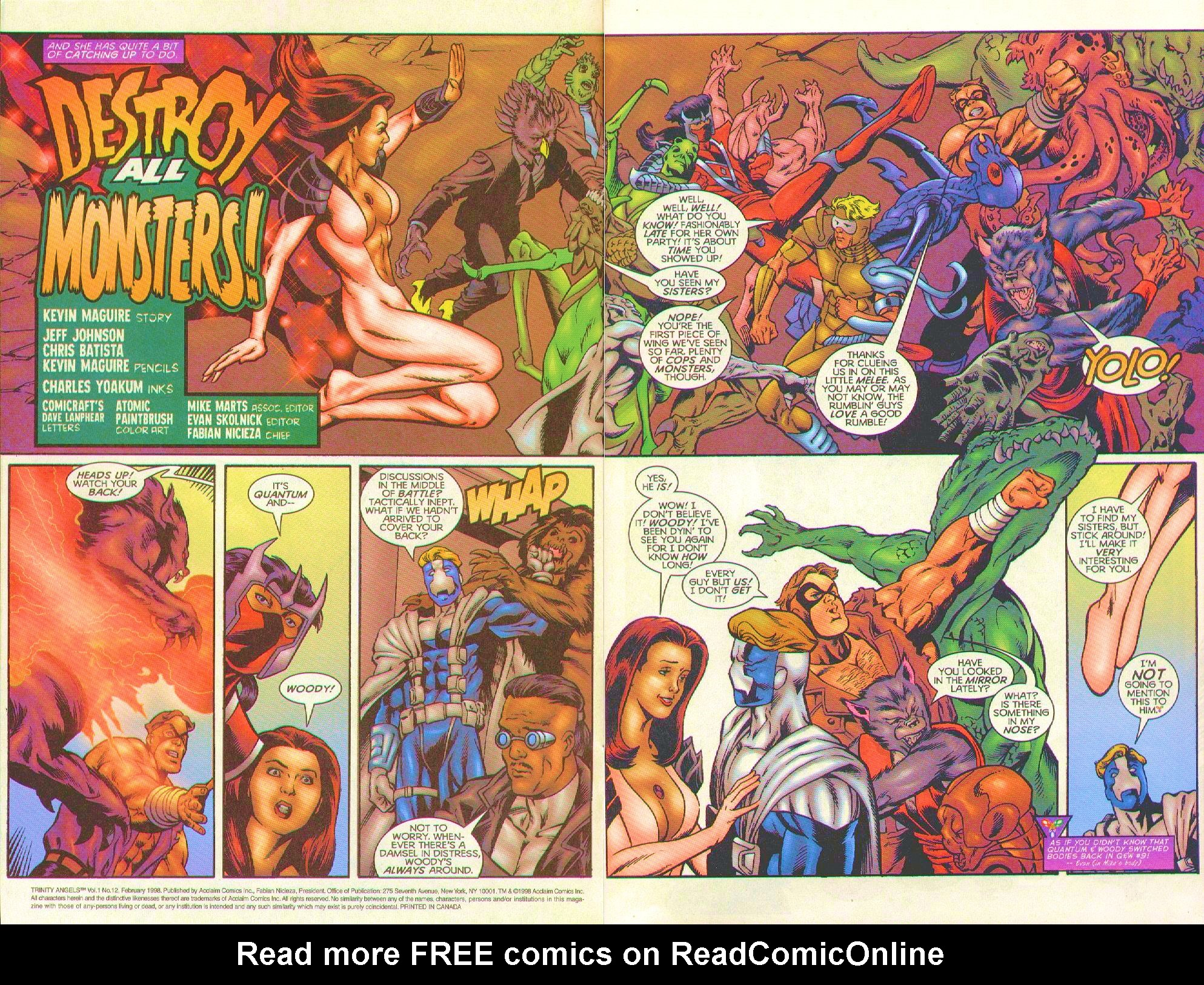 Read online Trinity Angels comic -  Issue #12 - 3