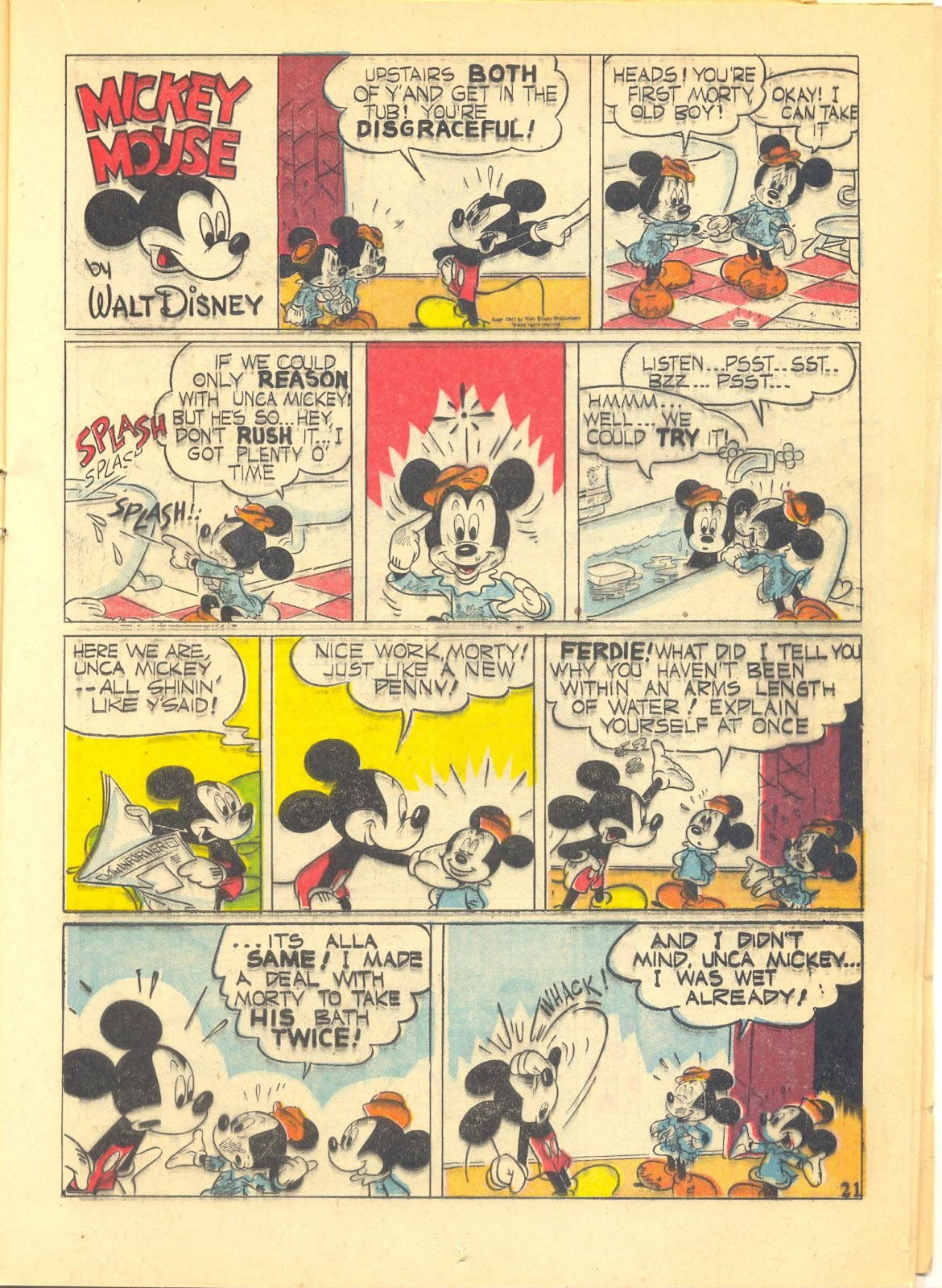 Walt Disney's Comics and Stories issue 40 - Page 23