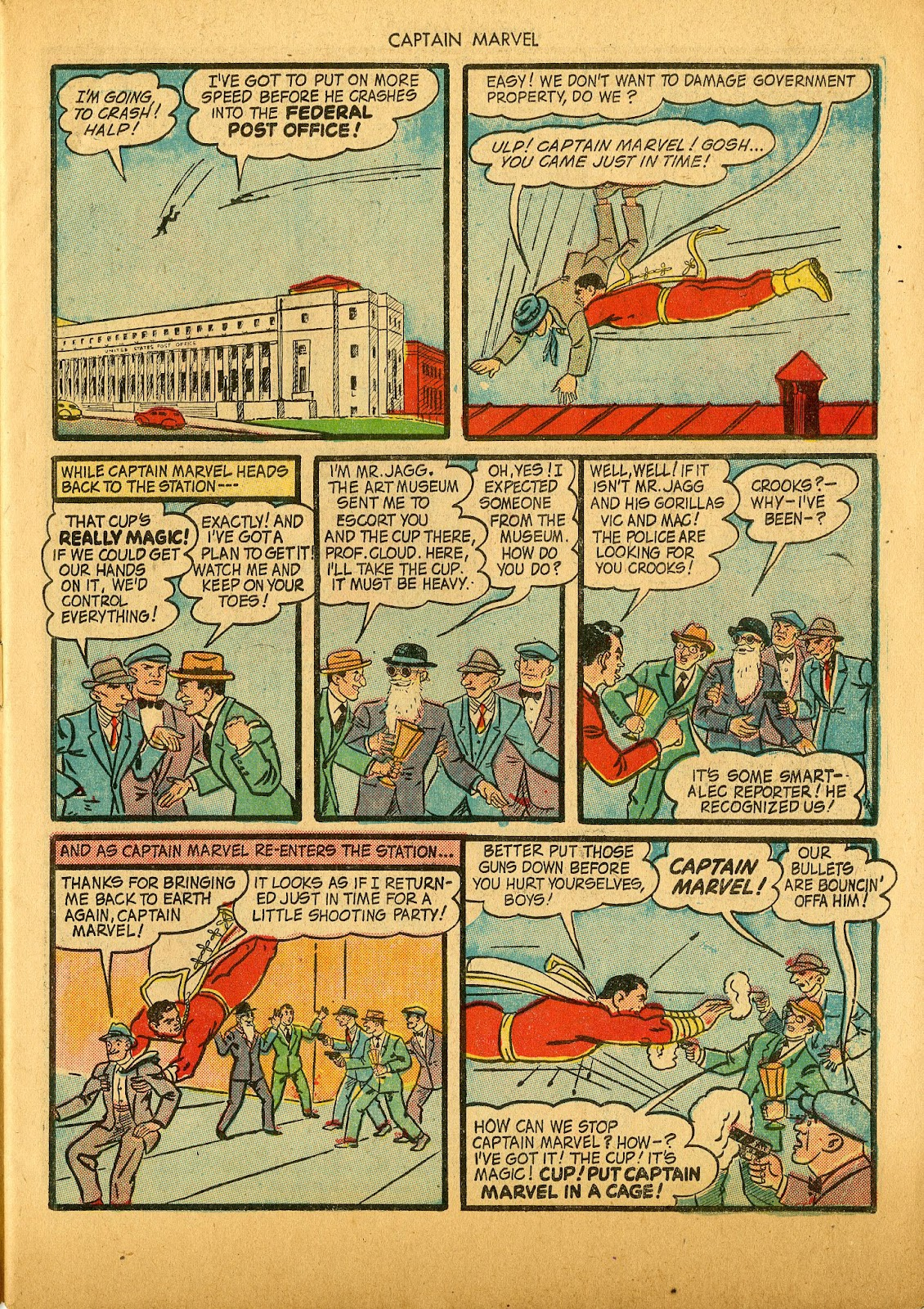 Captain Marvel Adventures issue 36 - Page 7