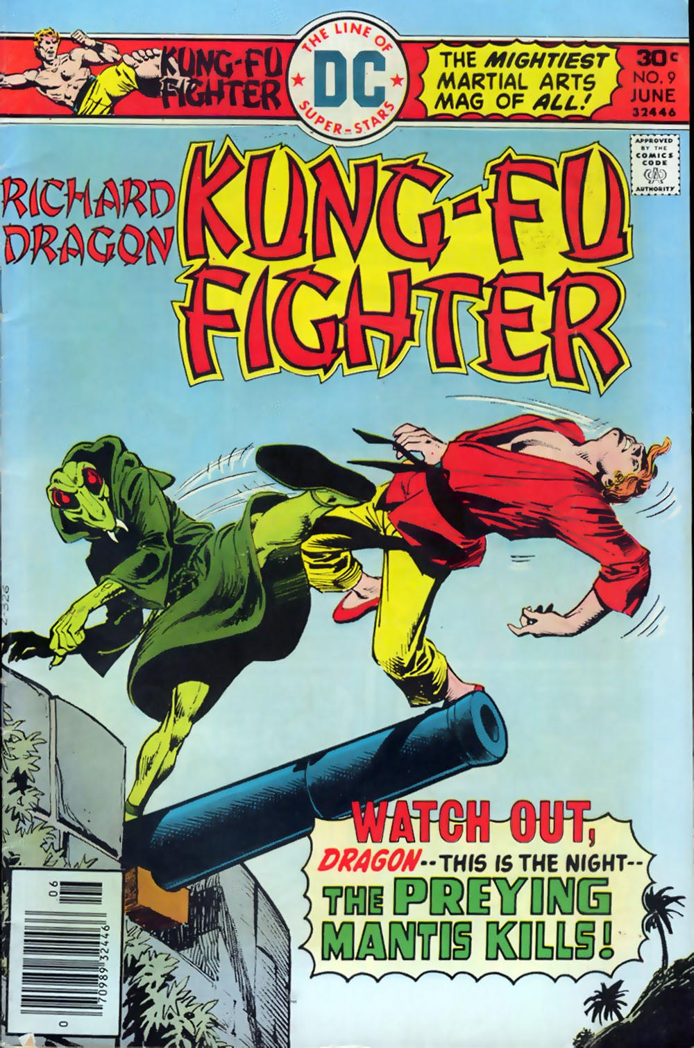 Richard Dragon, Kung-Fu Fighter 9 Page 1