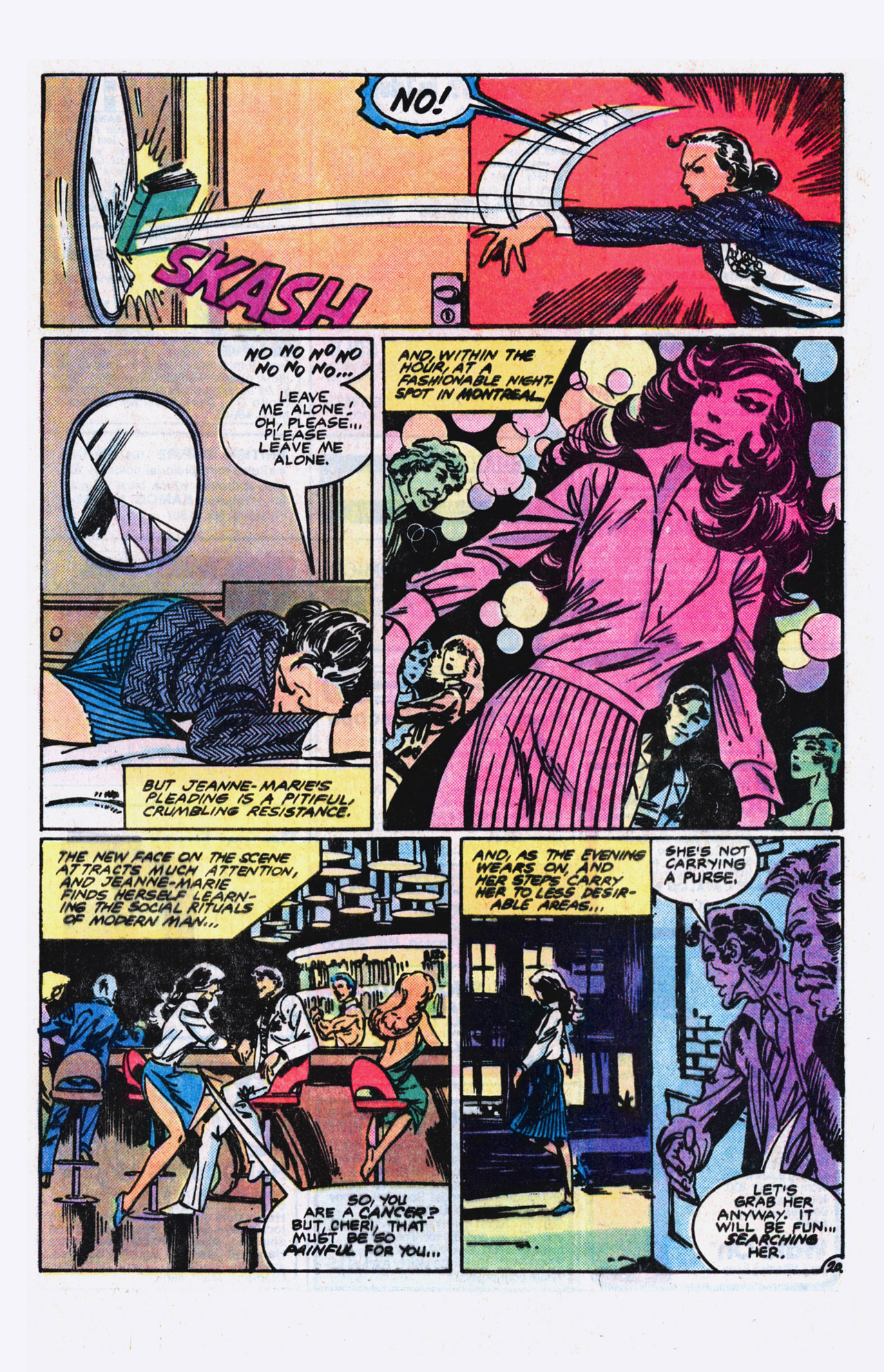 Read online Alpha Flight (1983) comic -  Issue #9 - 21