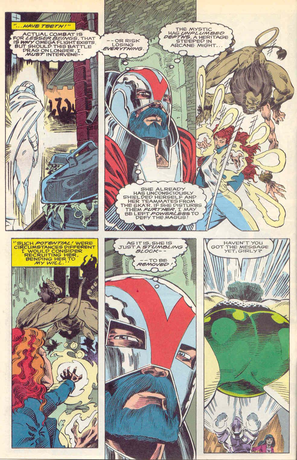 Read online Alpha Flight (1983) comic -  Issue #112 - 4