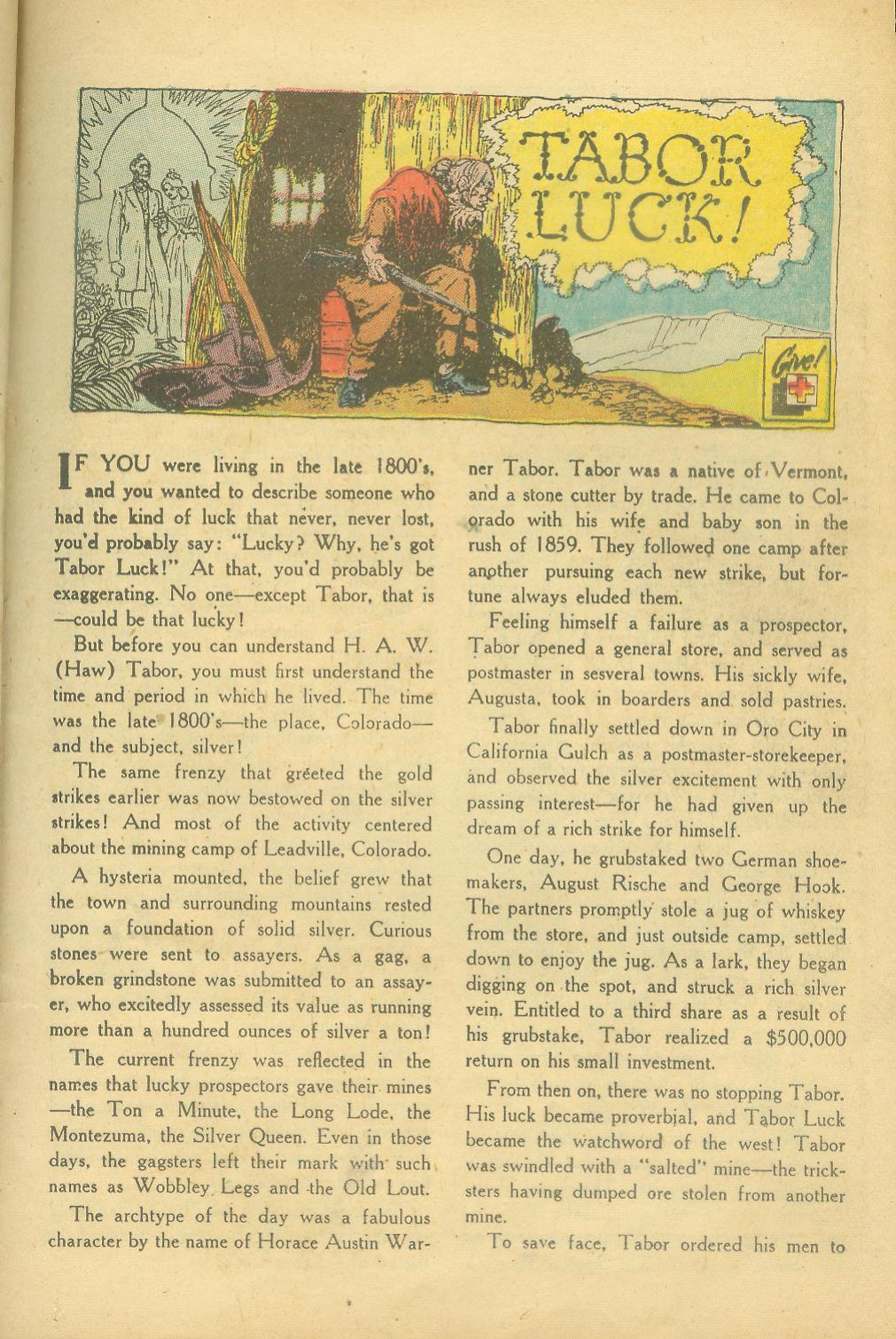 Read online All-Star Western (1951) comic -  Issue #65 - 25