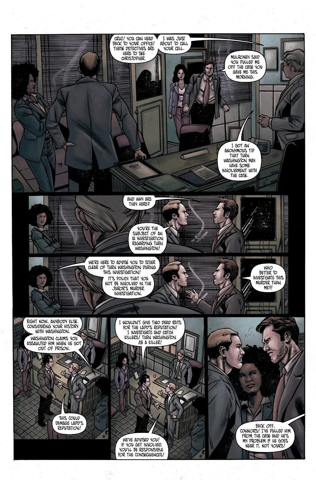 Read online Vindication comic -  Issue #1 - 19