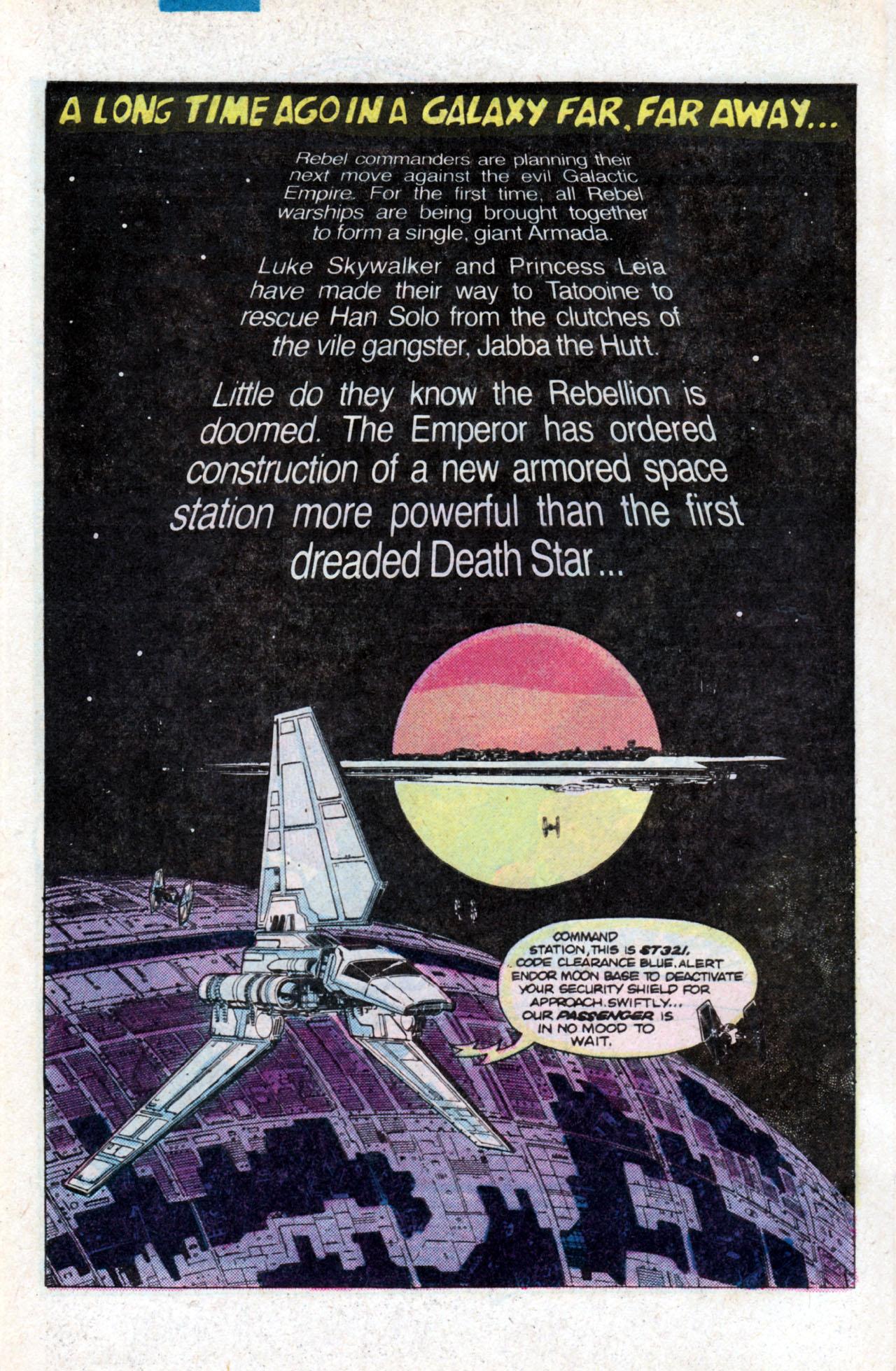 Read online Star Wars: Return of the Jedi comic -  Issue #1 - 4
