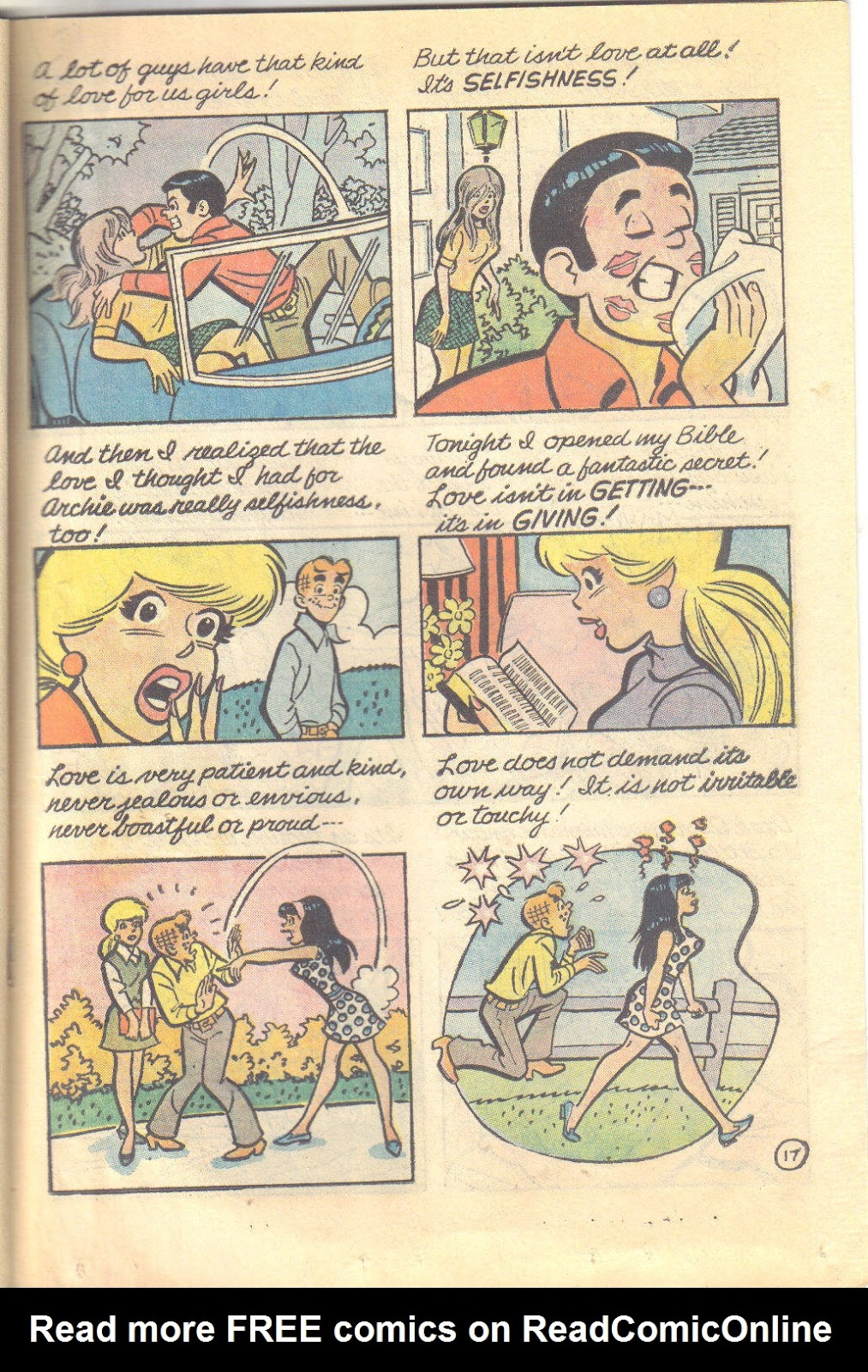 Archie's Love Scene issue Full - Page 19