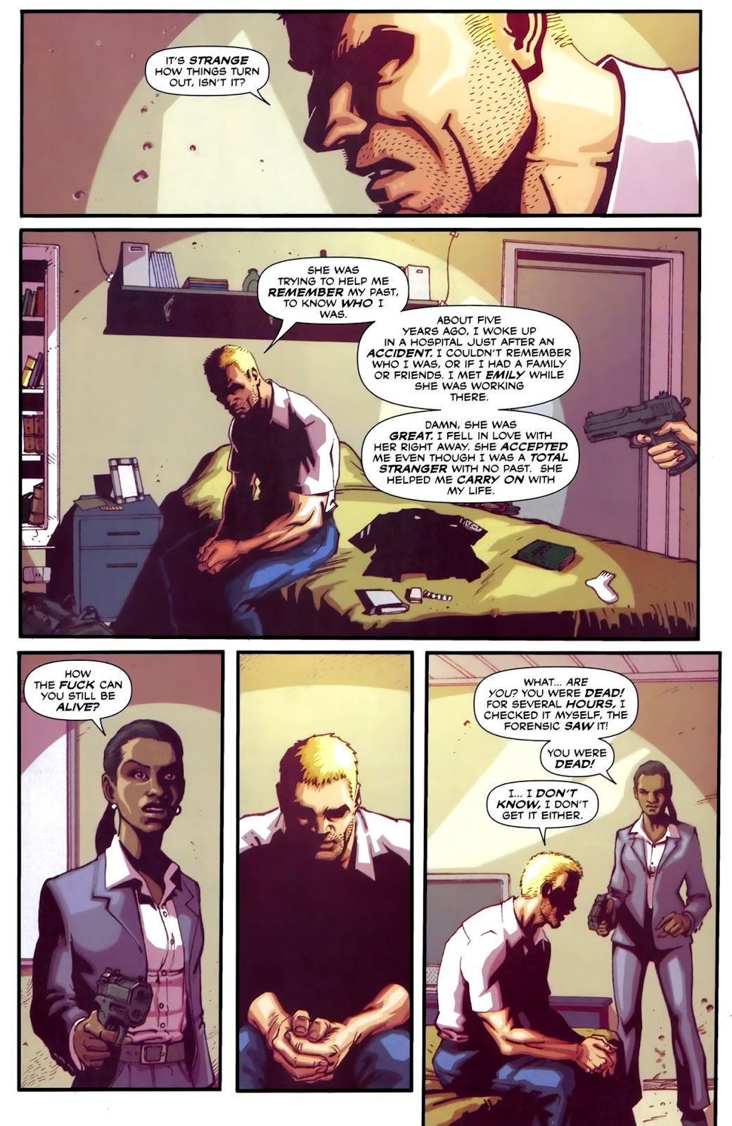Read online Lazarus (2007) comic -  Issue #2 - 12