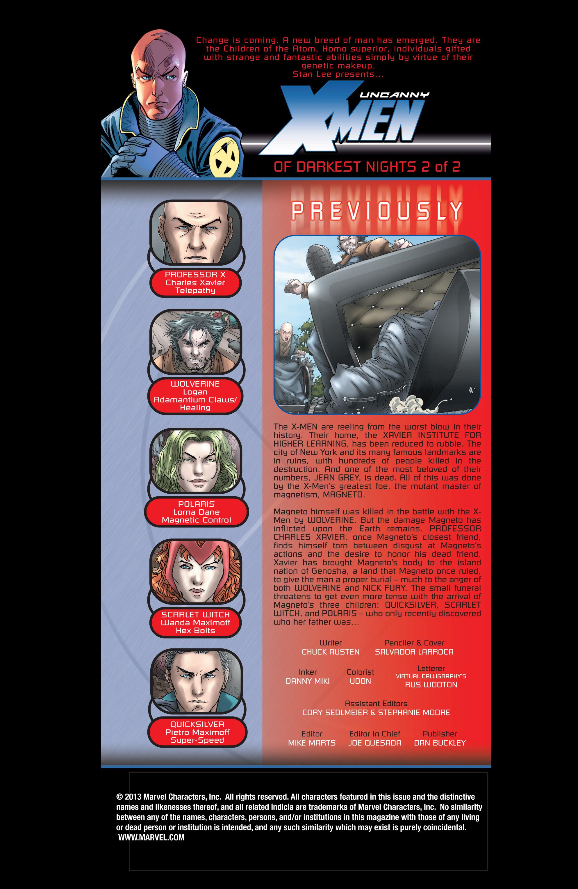 Read online Uncanny X-Men (1963) comic -  Issue #443 - 2