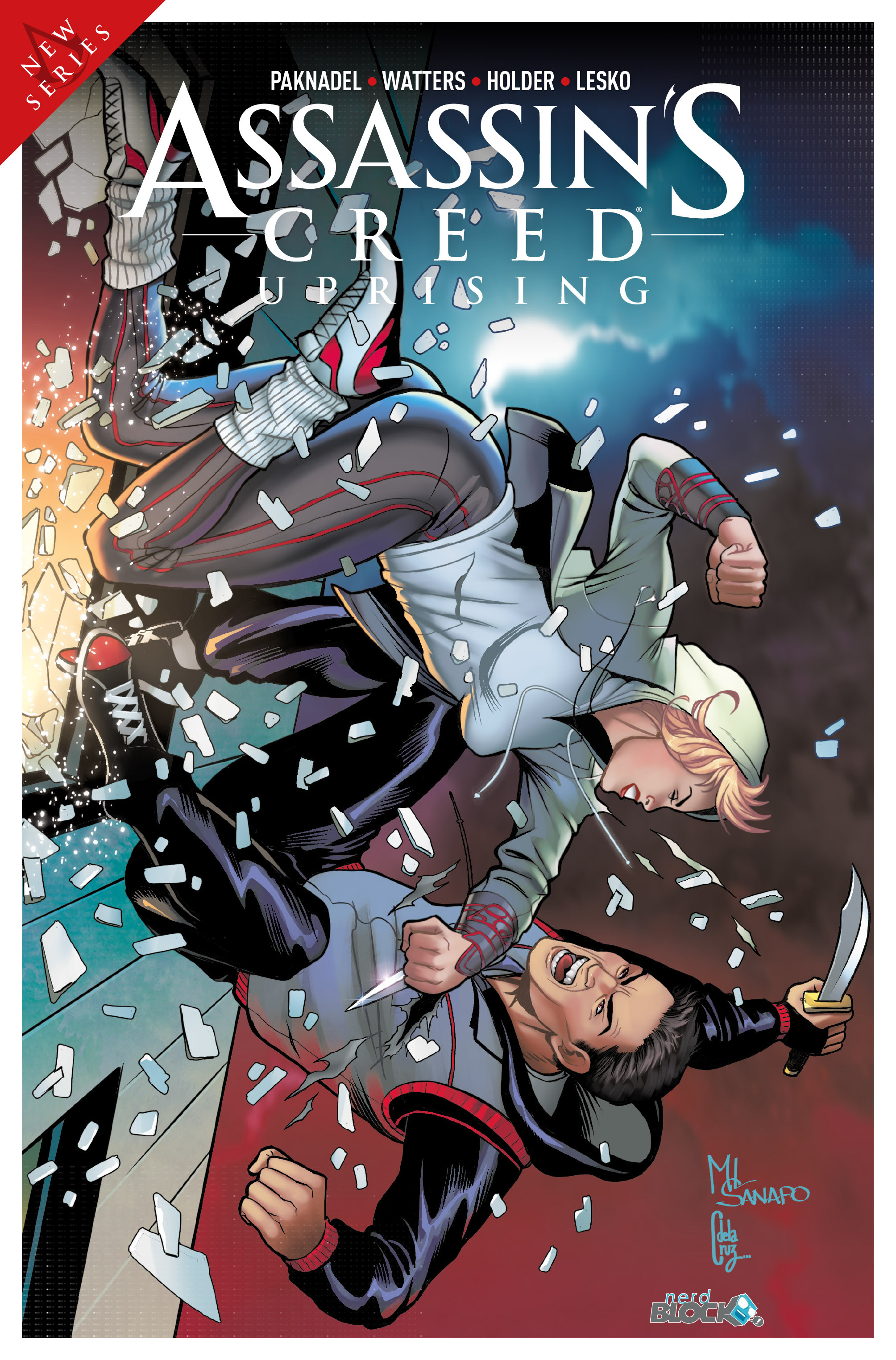 Read online Assassin's Creed: Uprising comic -  Issue #1 - 37