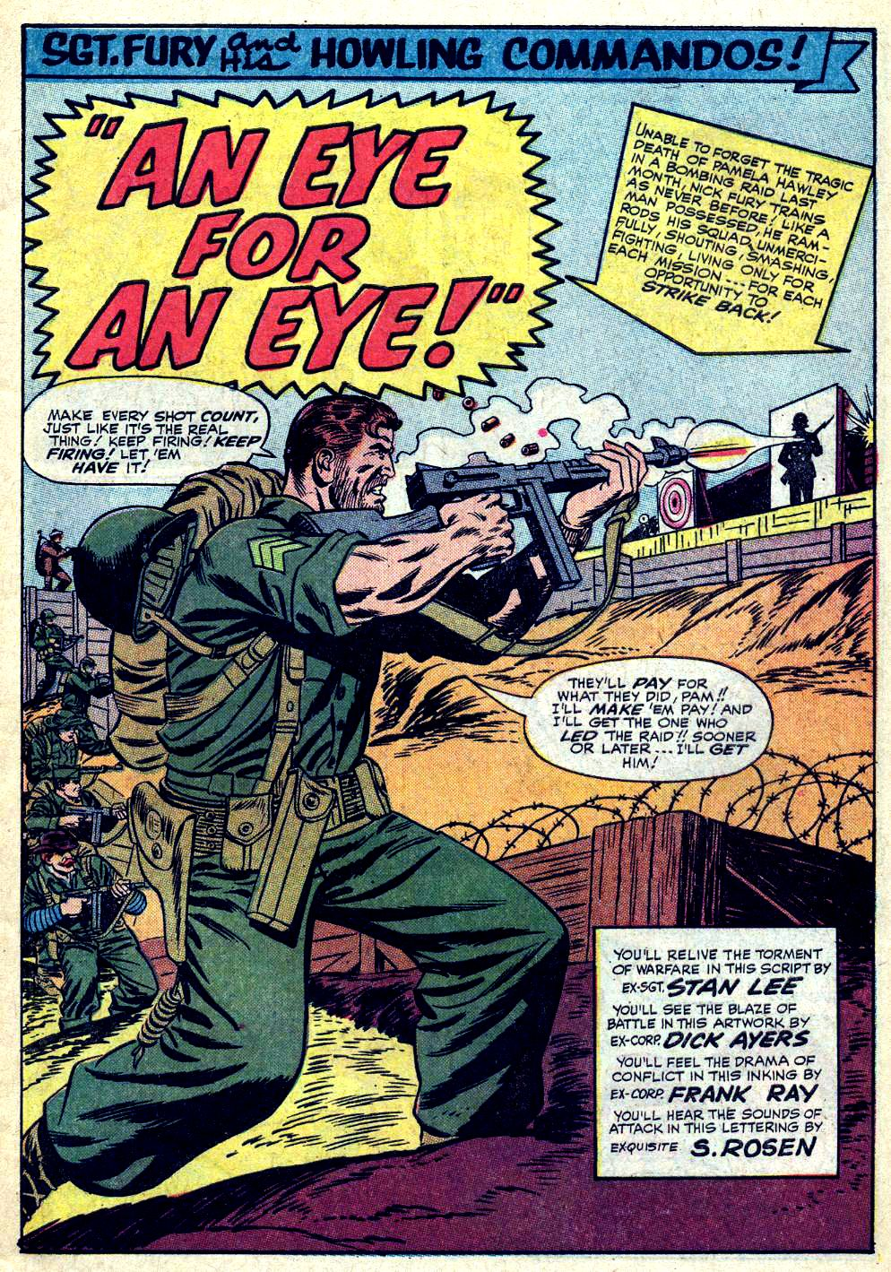 Read online Sgt. Fury comic -  Issue #19 - 3