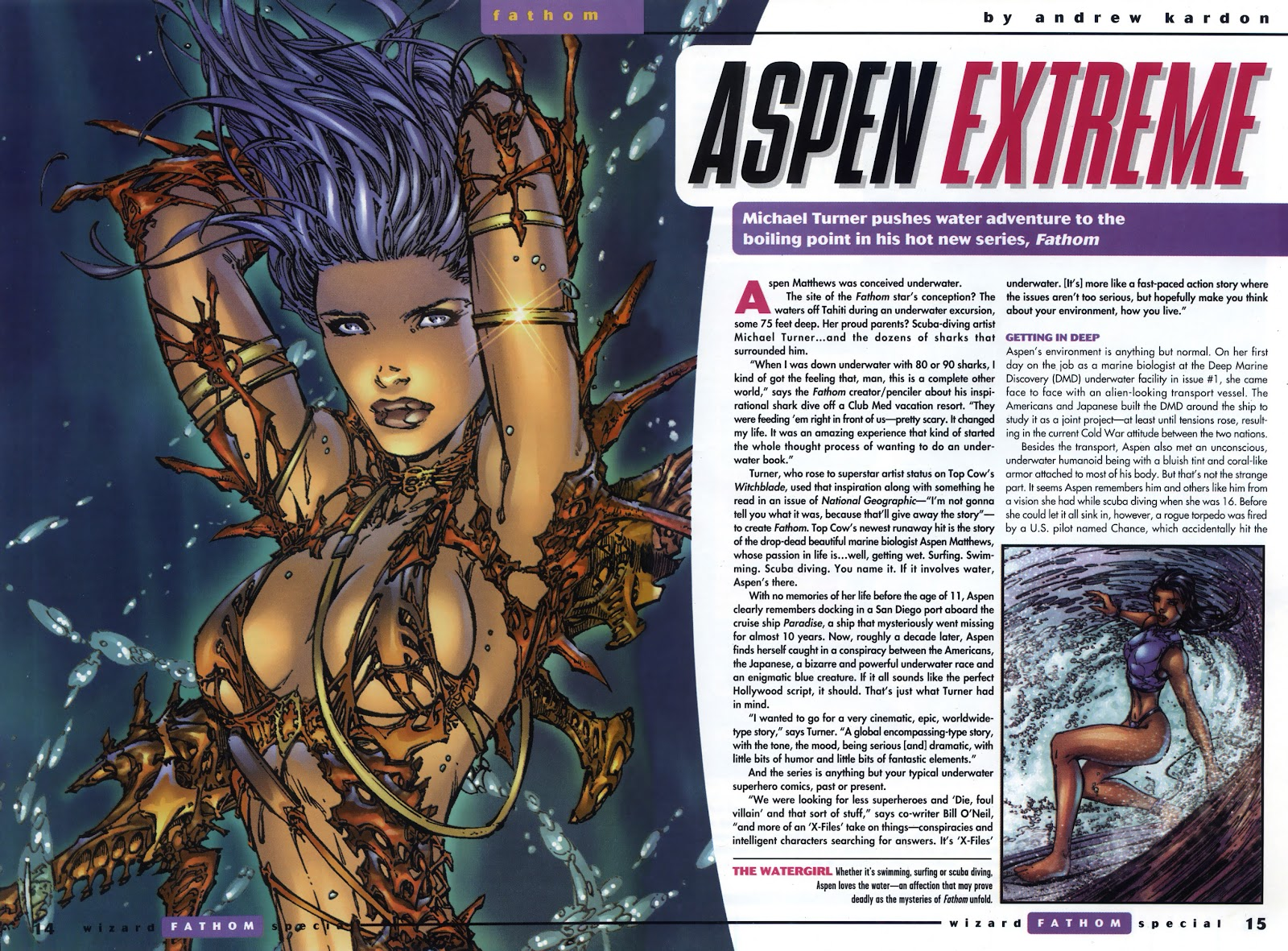 Read online Fathom Special comic -  Issue # Full - 10