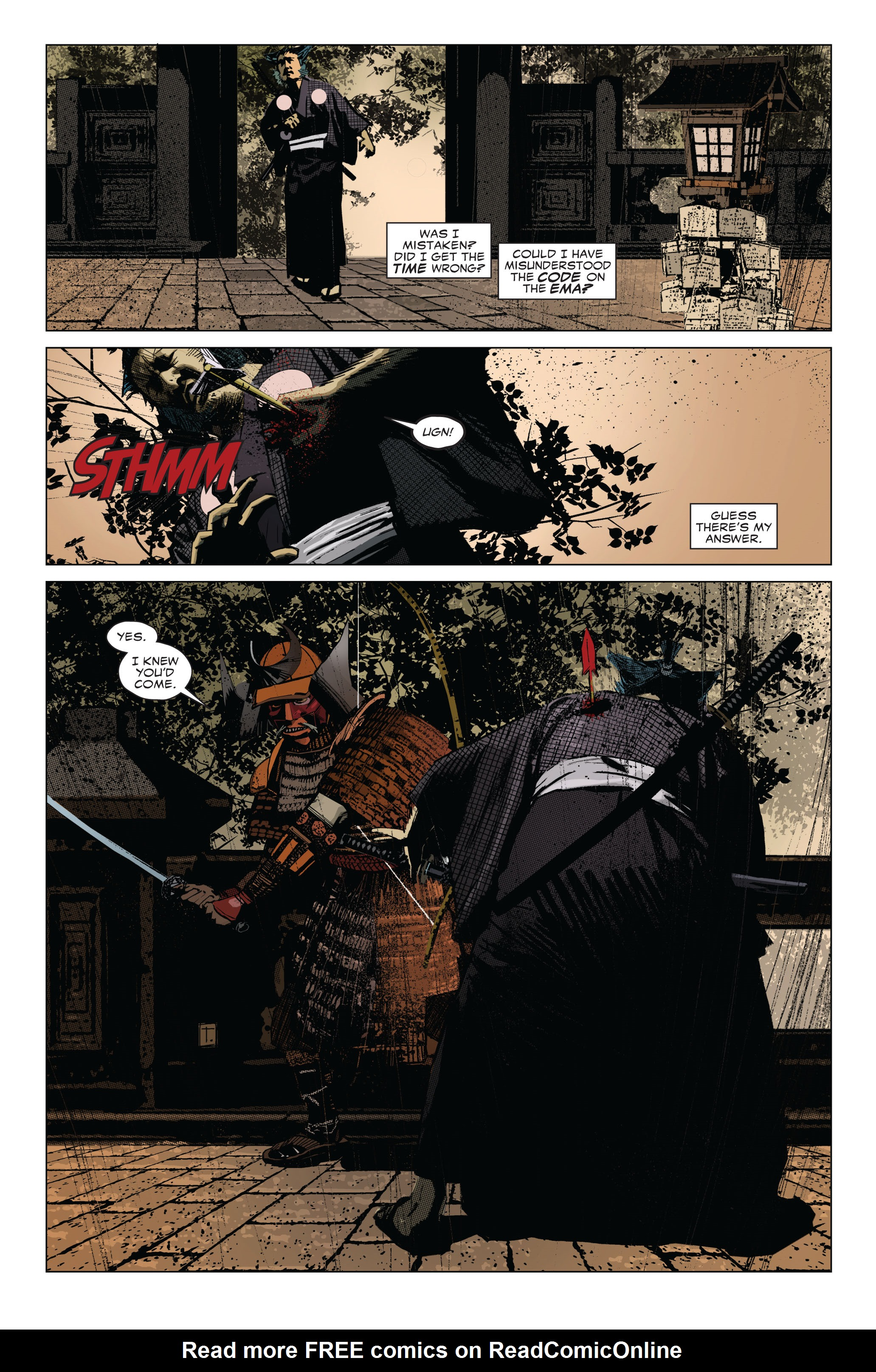 Read online 5 Ronin (2011) comic -  Issue #1 - 6