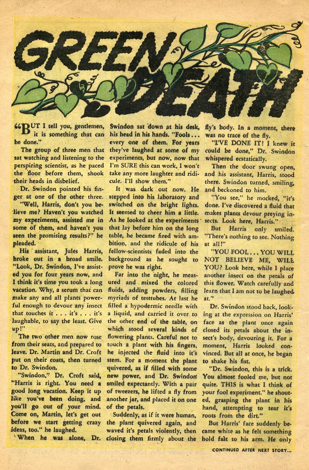 Read online Adventures into Weird Worlds comic -  Issue #29 - 8
