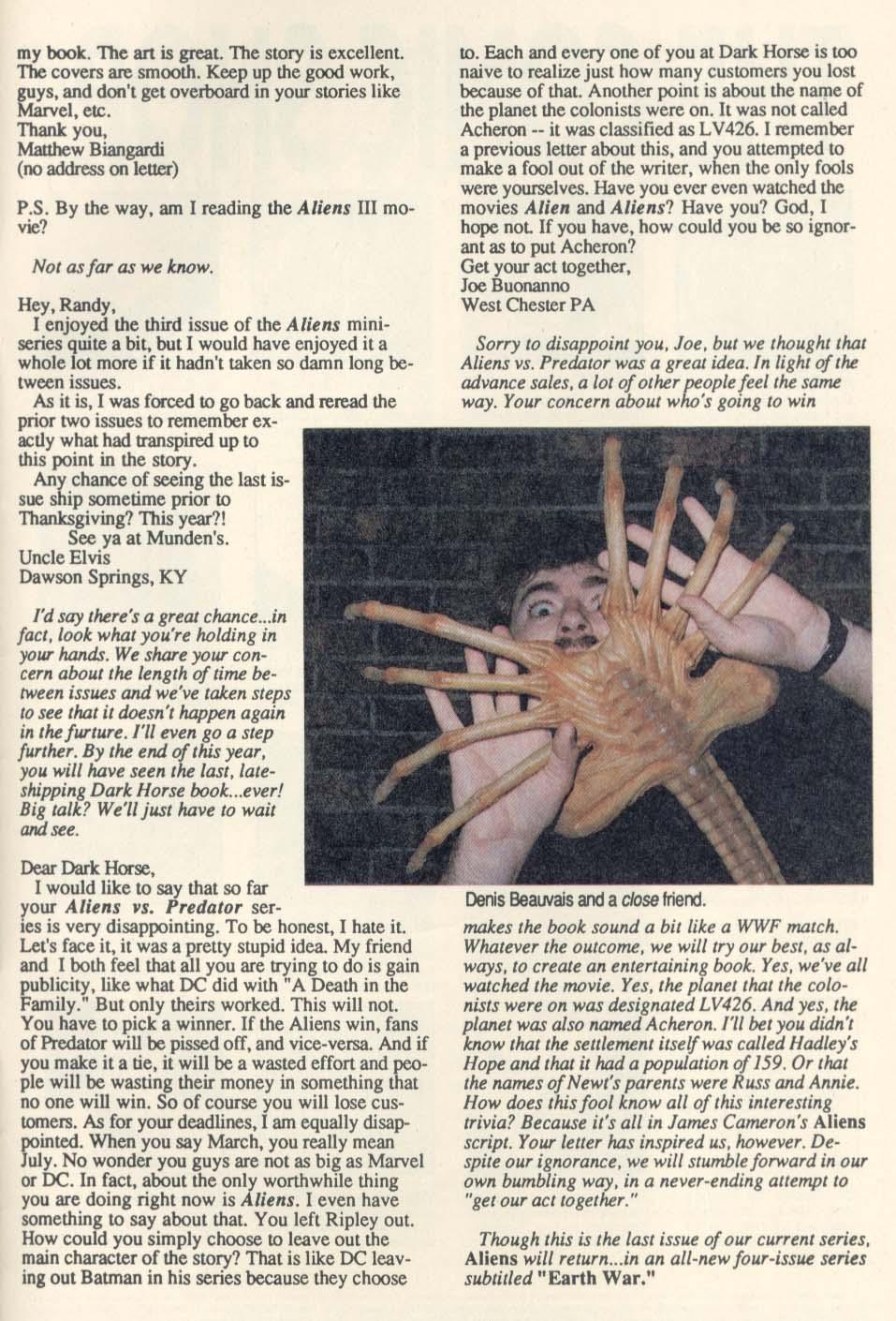 Read online Aliens (1989) comic -  Issue #4 - 29