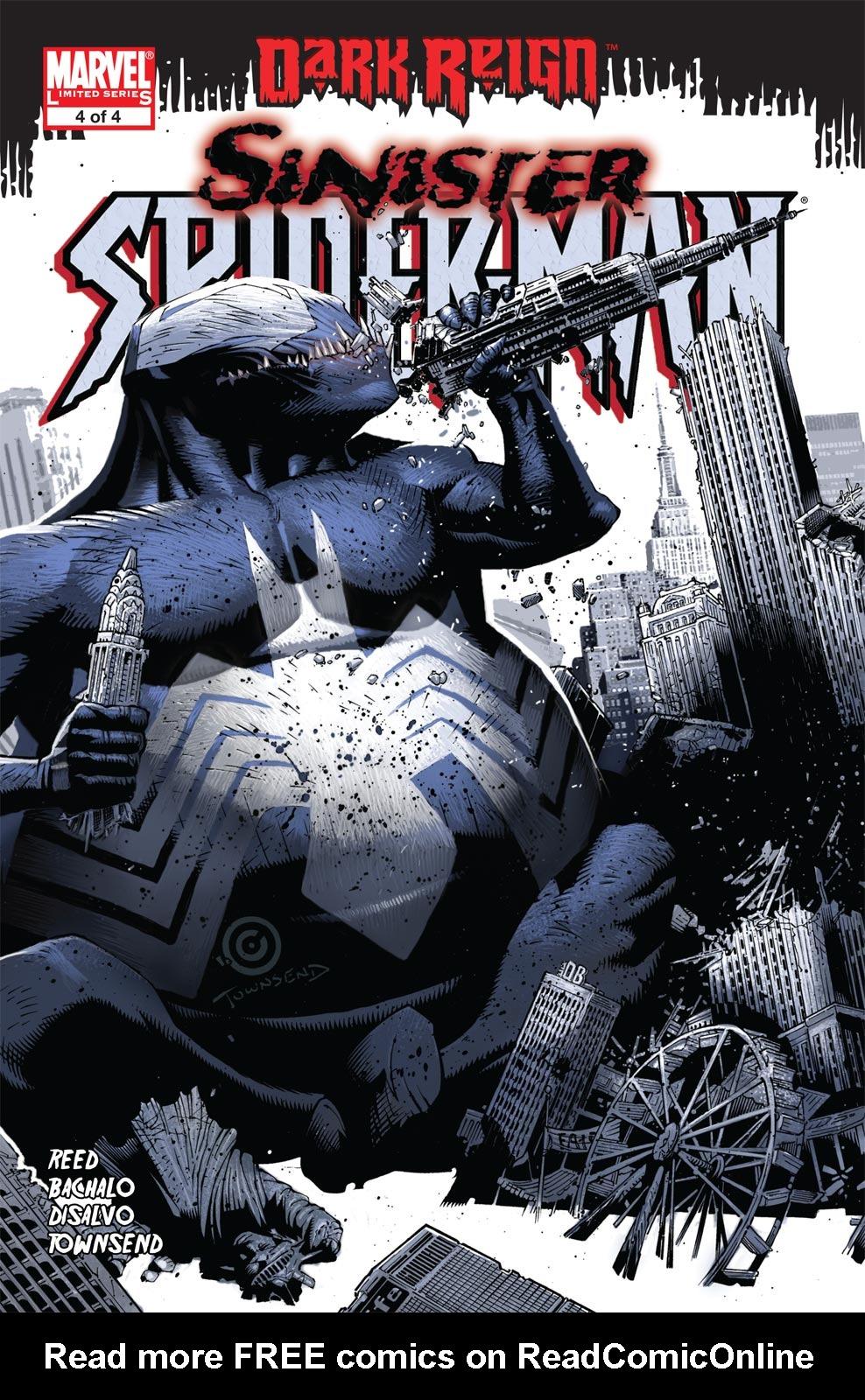 Dark Reign: The Sinister Spider-Man issue 4 - Page 1