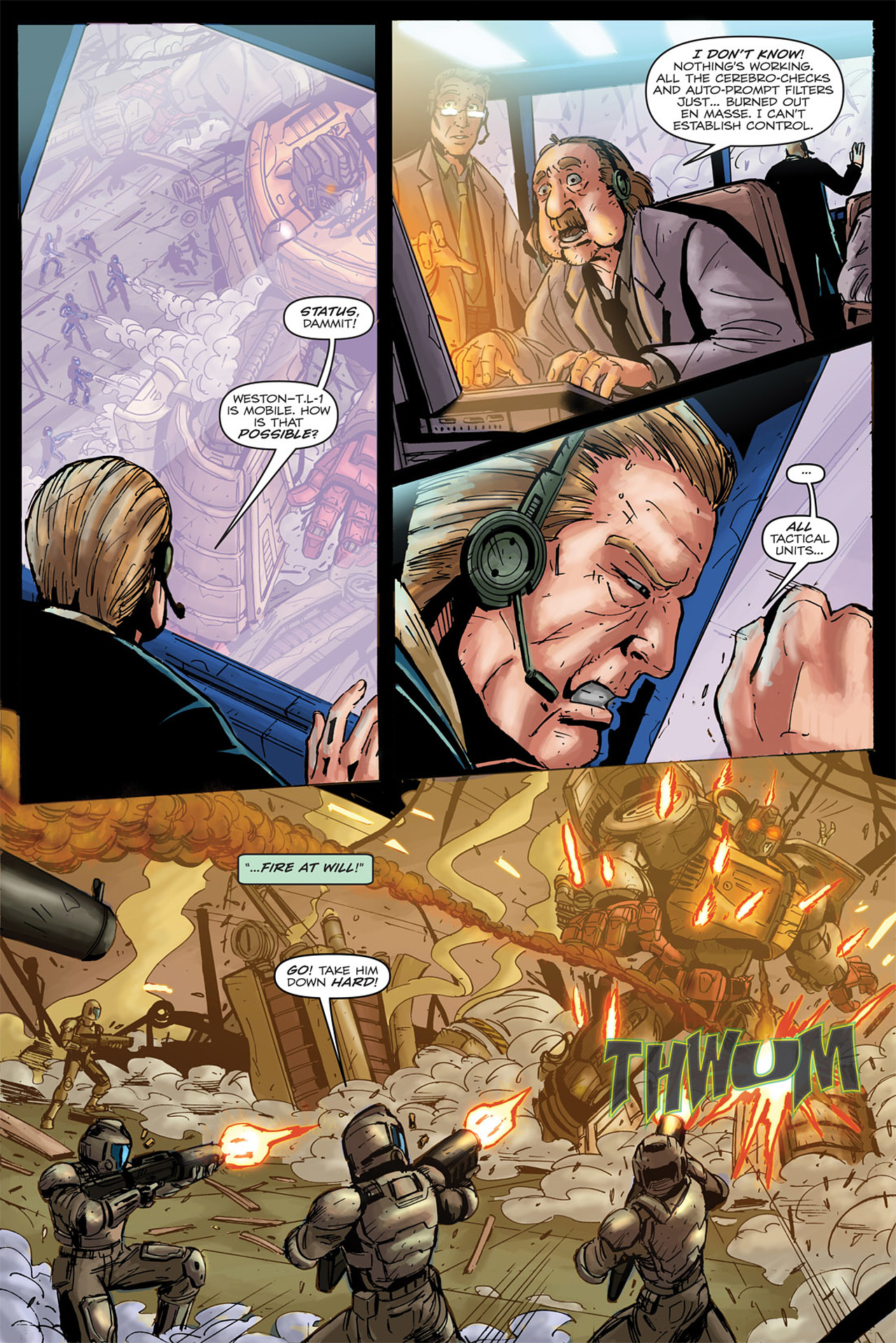 Read online Transformers Spotlight: Grimlock comic -  Issue # Full - 11
