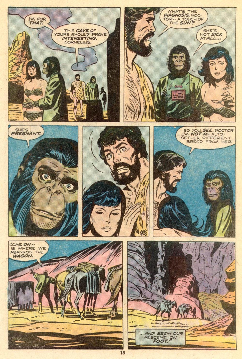 Read online Adventures on the Planet of the Apes comic -  Issue #5 - 13