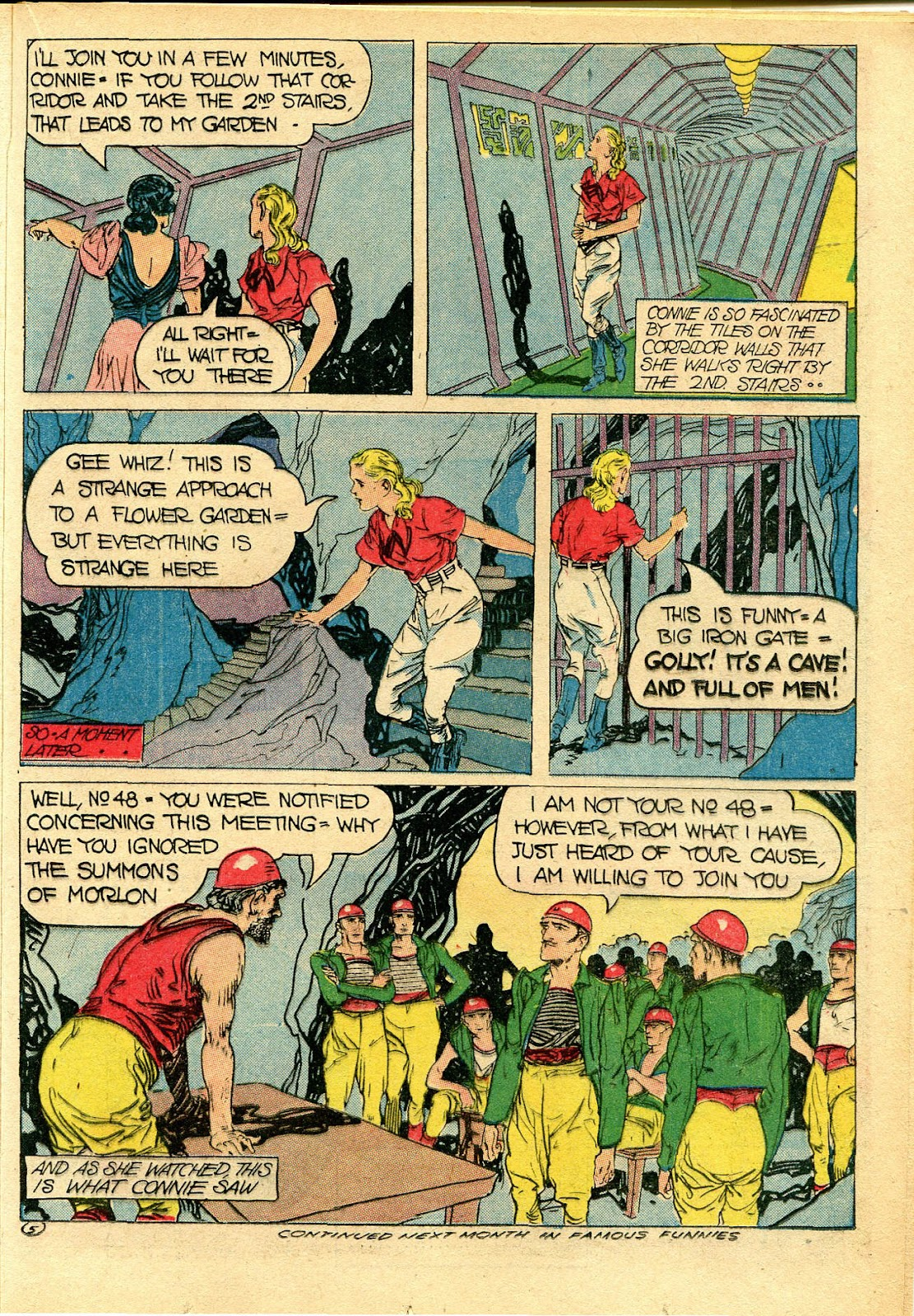 Read online Famous Funnies comic -  Issue #111 - 33