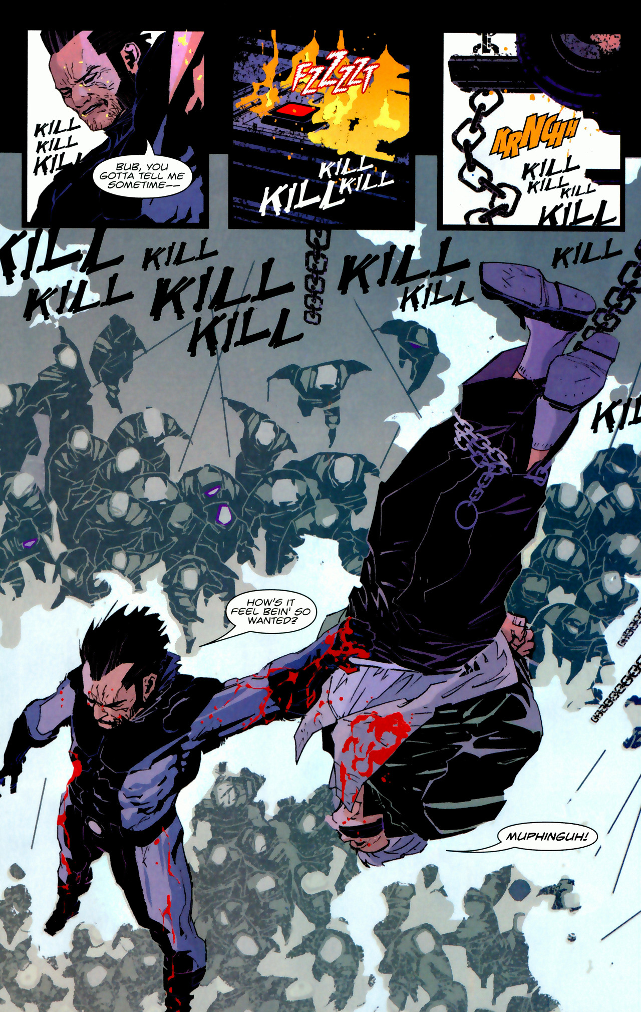 Read online X-Force Special: Ain't No Dog comic -  Issue # Full - 12