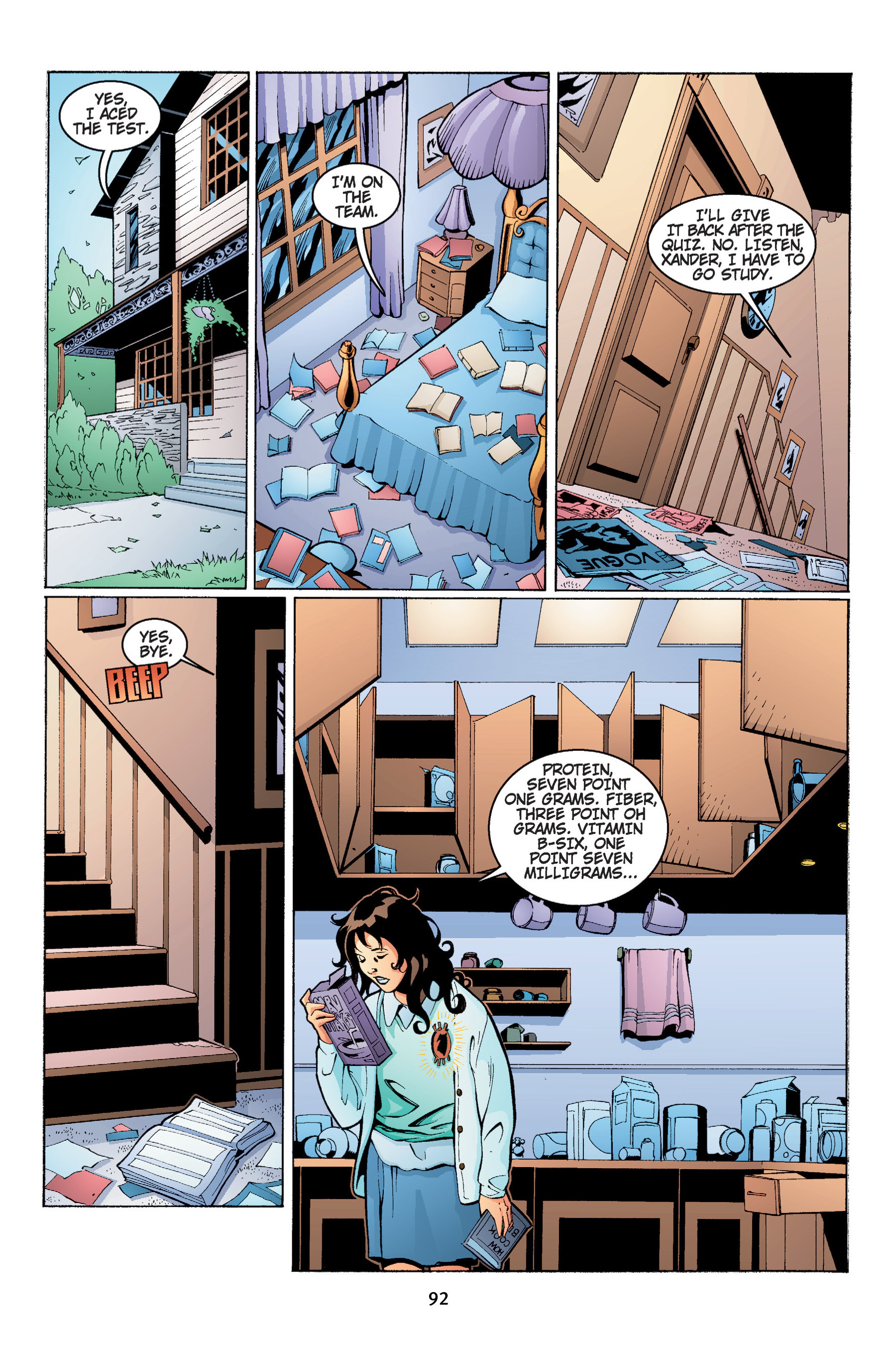 Read online Buffy the Vampire Slayer: Omnibus comic -  Issue # TPB 4 - 93