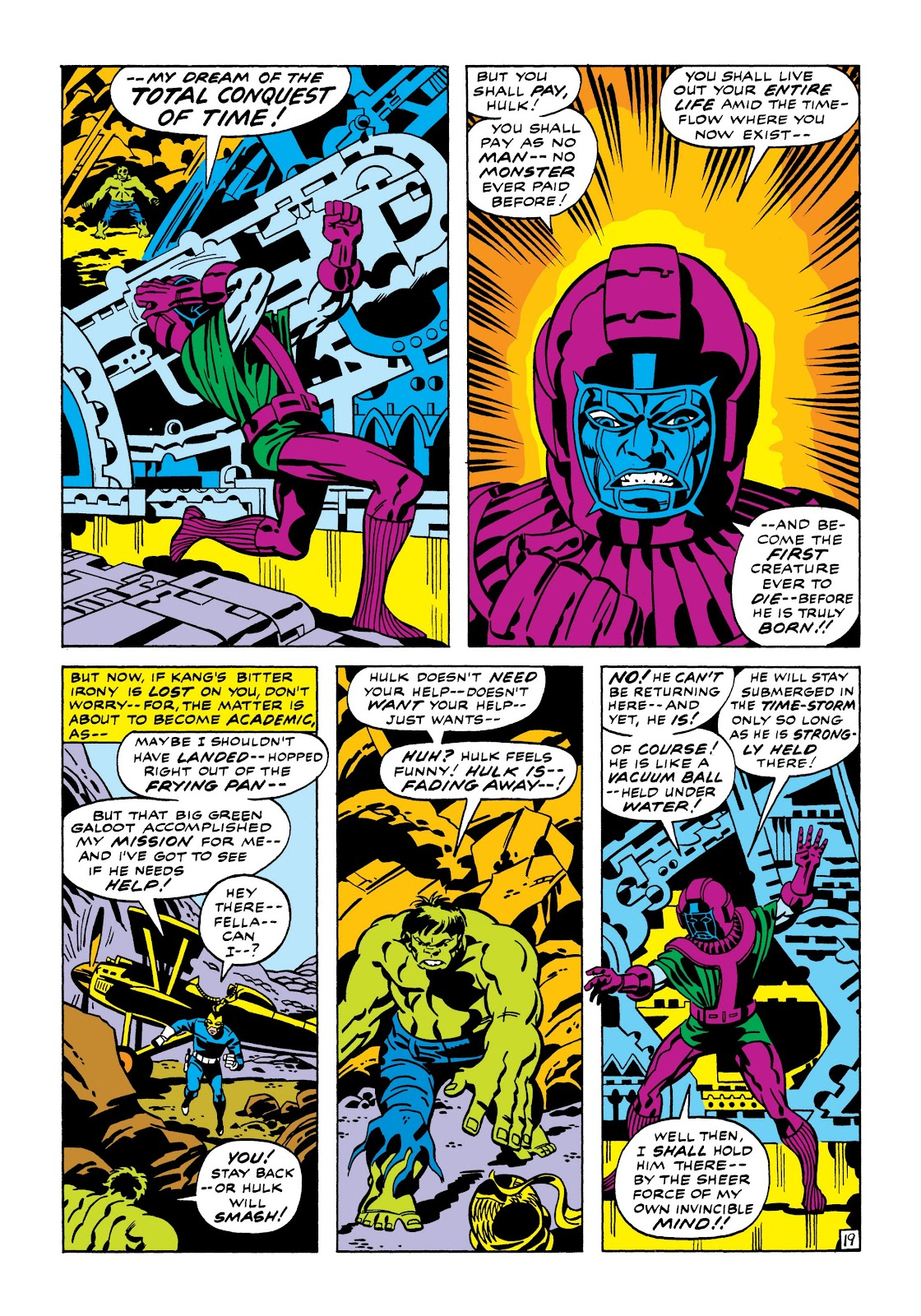 Read online Marvel Masterworks: The Incredible Hulk comic -  Issue # TPB 7 (Part 1) - 25