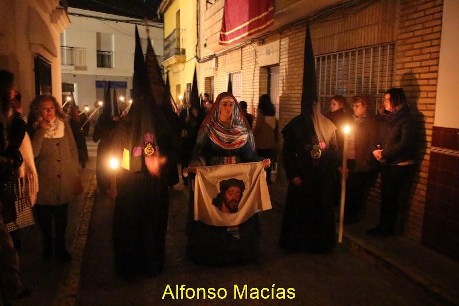 La  Verónica, este año encarnada en la guapísima valverdeña  Ana Díaz Mora