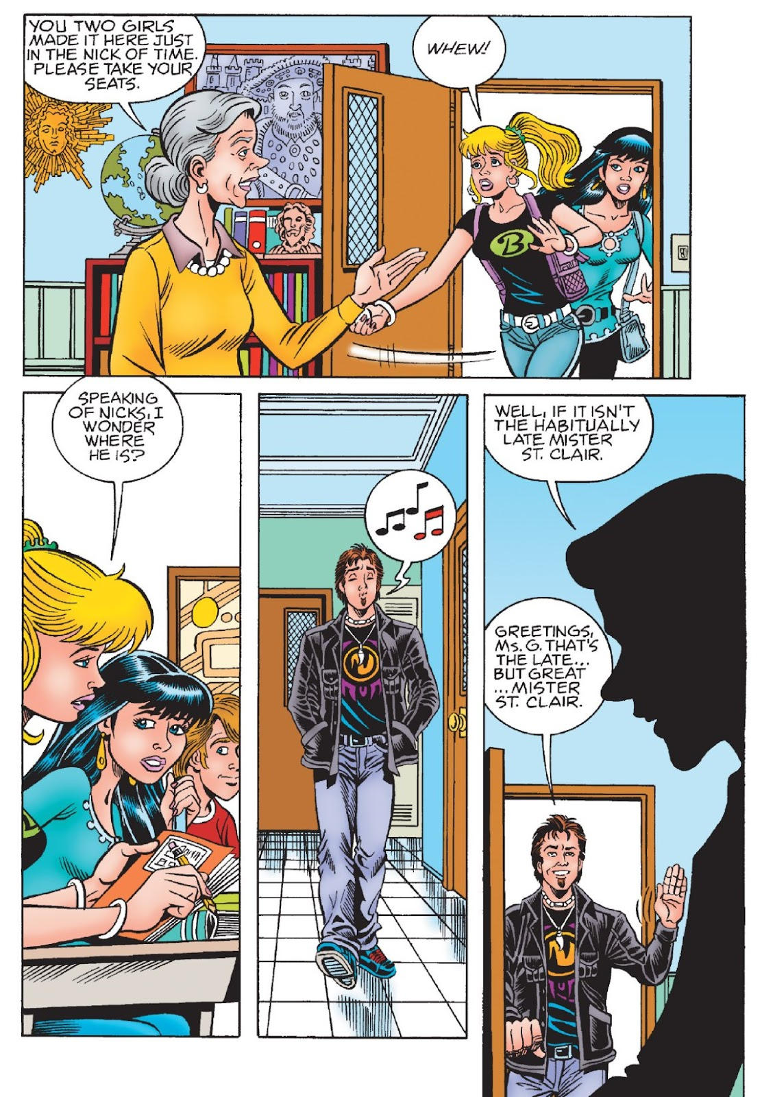 Read online Archie's New Look Series comic -  Issue #1 - 51