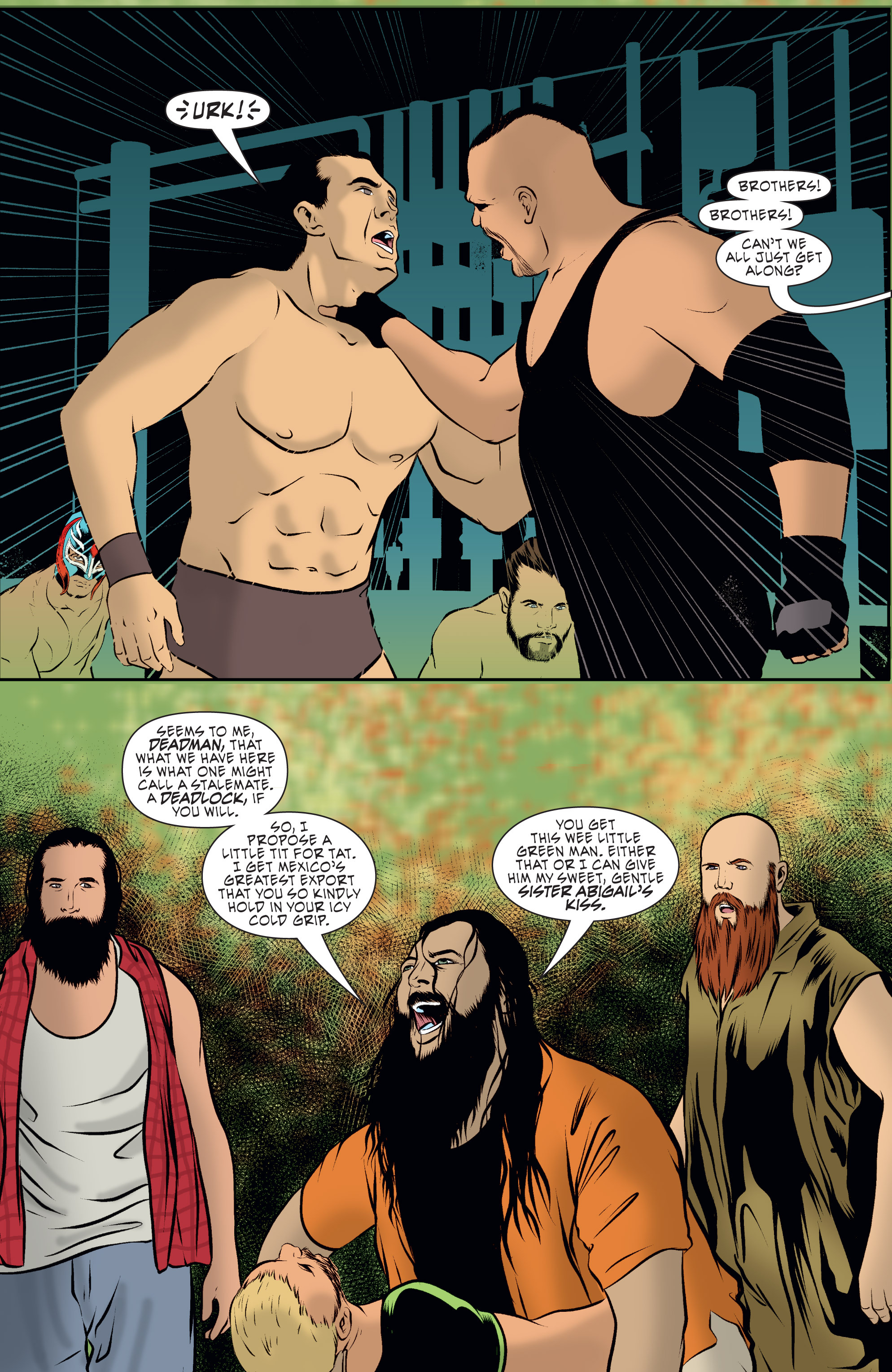 Read online WWE Superstars comic -  Issue #7 - 5