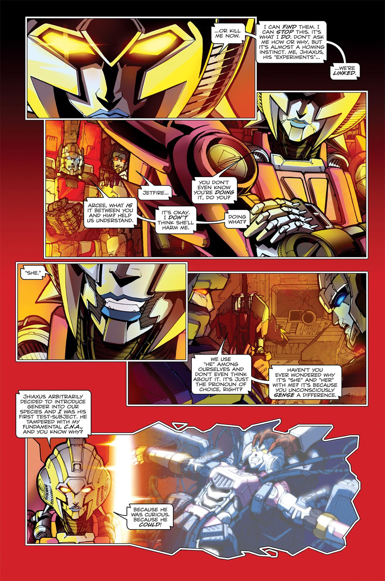 Read online Transformers: Spotlight - Arcee comic -  Issue # Full - 25